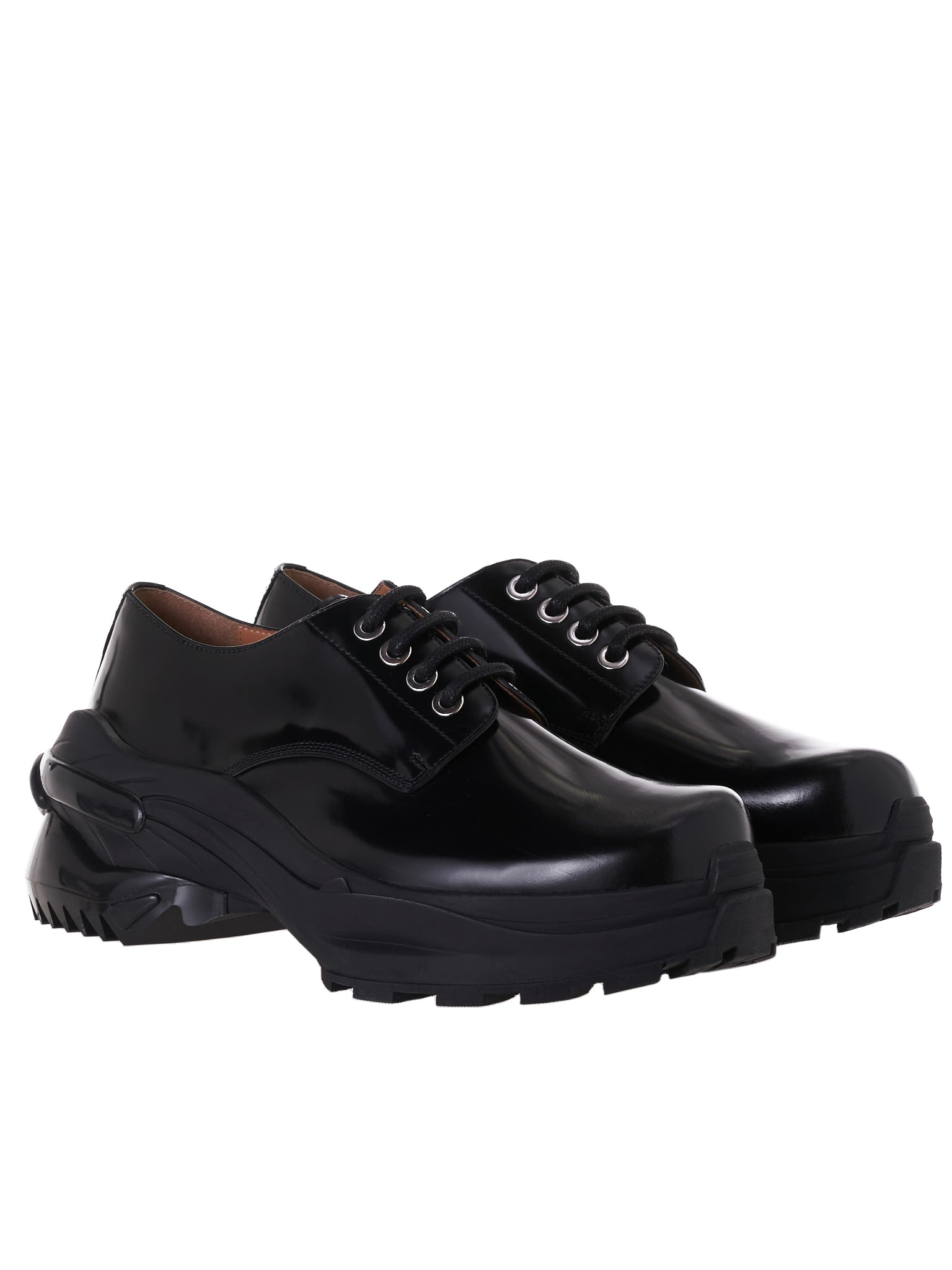 Ridge Sole Derbys (S37WQ0318-P1993-BLACK)