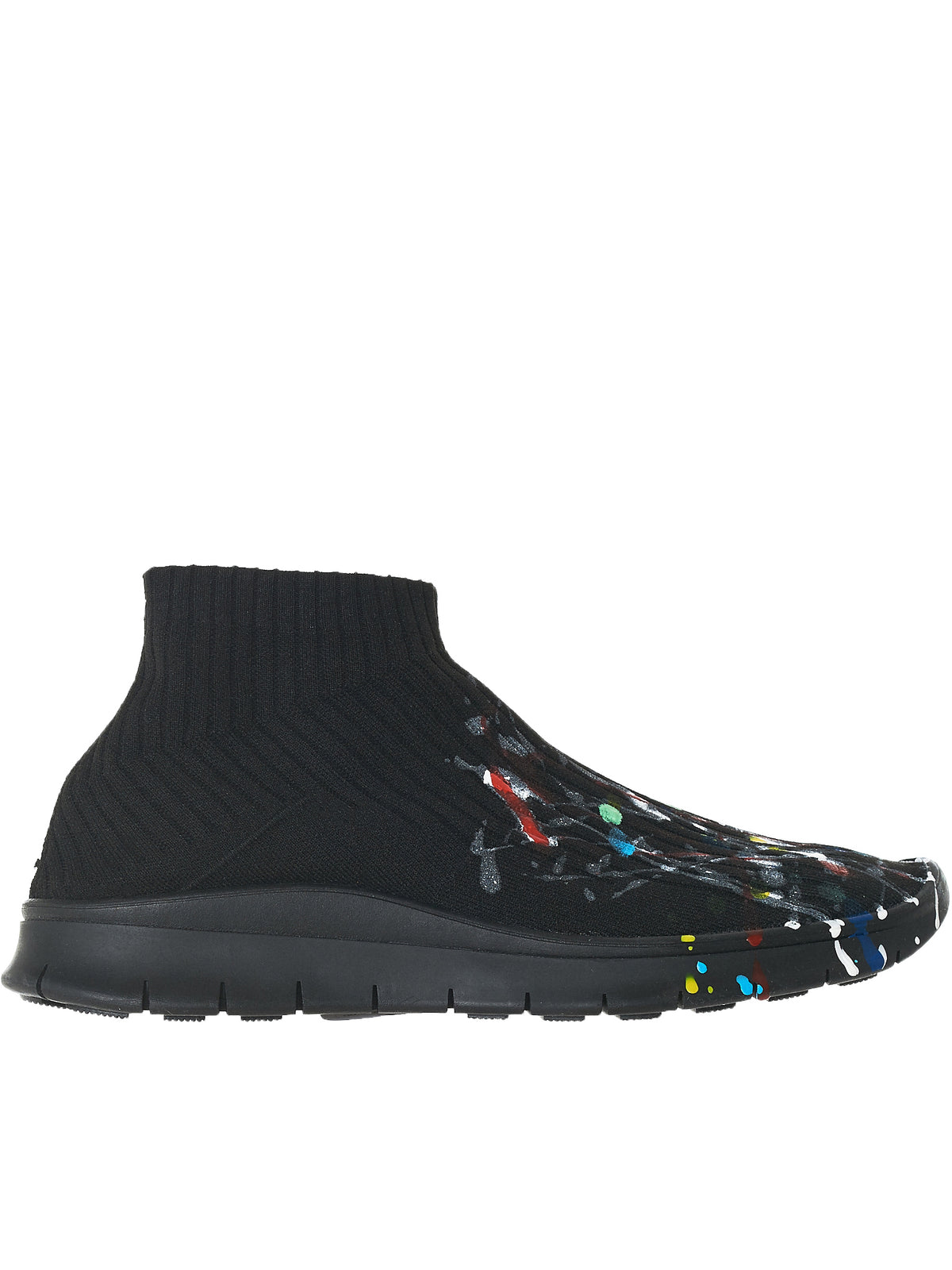Maison Margiela Paint Sneakers - Hlorenzo Side