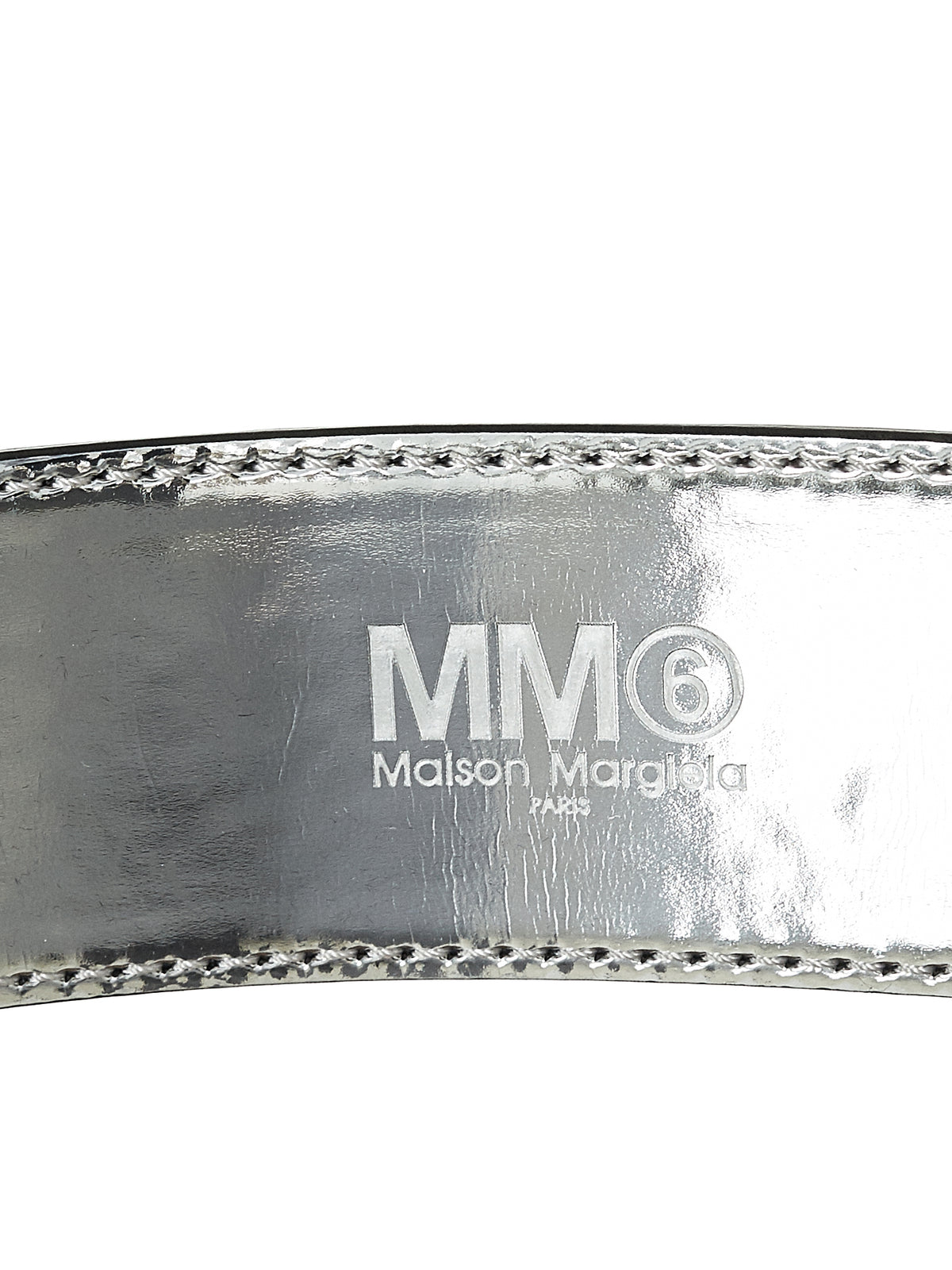 MM6 Maison Margiela Double Belt - Hlorenzo Detail 2
