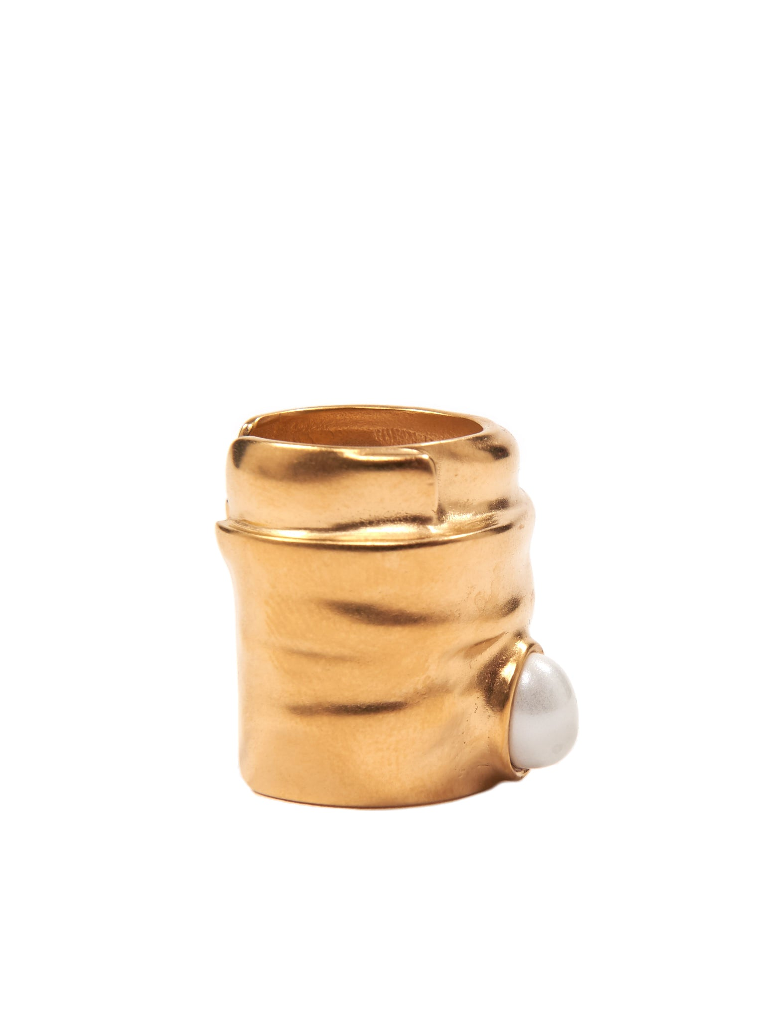 Gold Cuff Ring (S51UQ0021-S11880-GOLD)