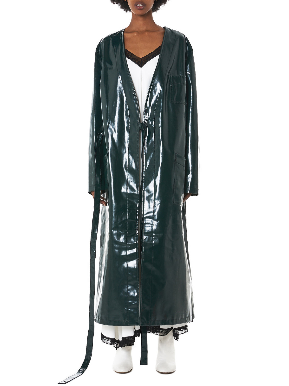 MM6 Maison Margiela Coat - Hlorenzo Front