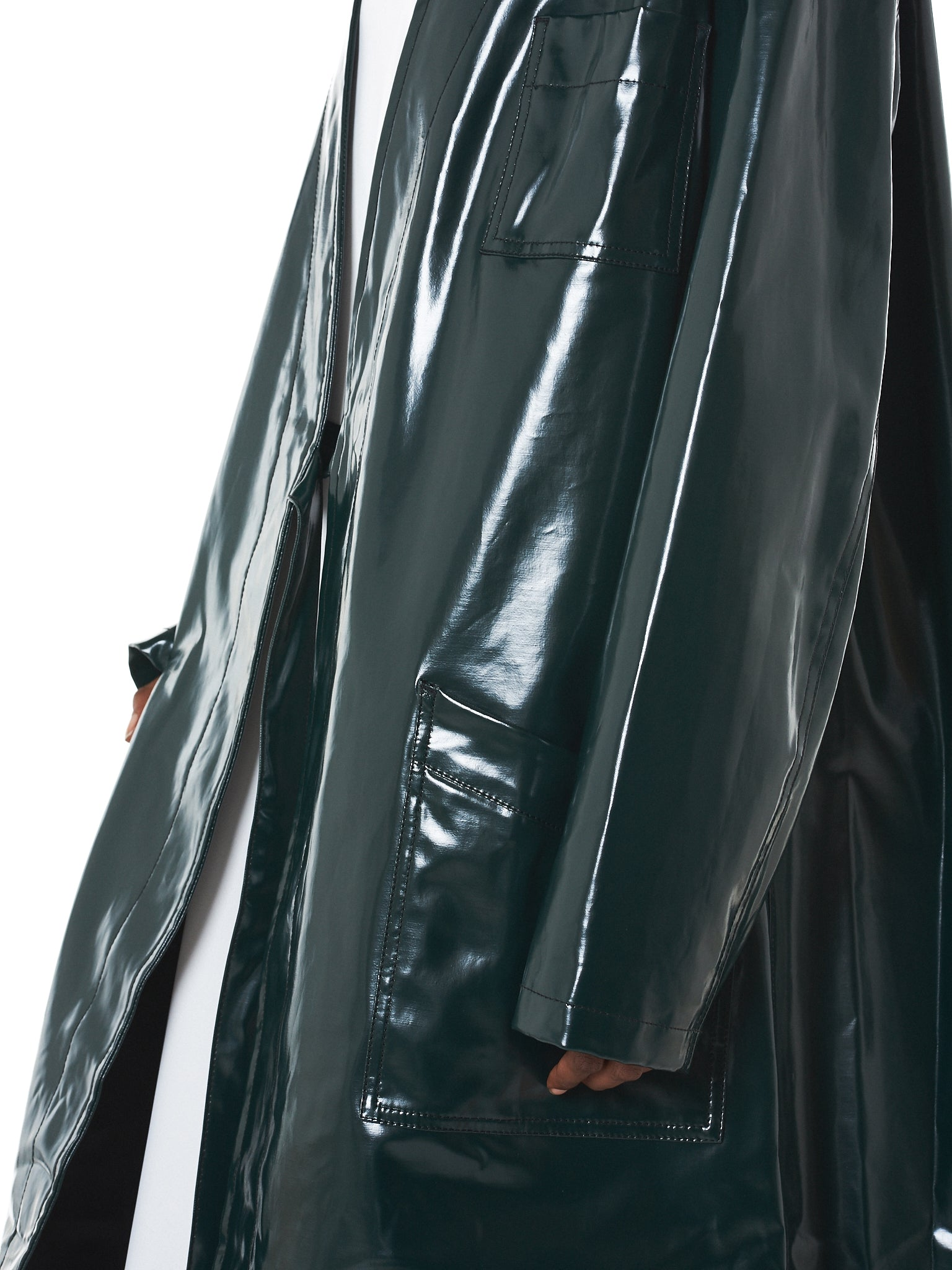 MM6 Maison Margiela Coat - Hlorenzo Detail 3
