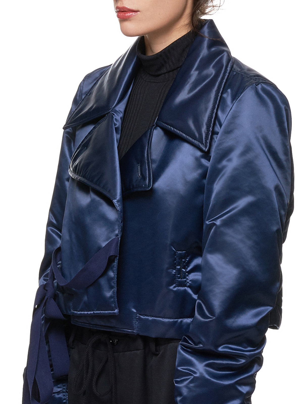 Padded Riders Jacket (S52AM0108-S49973-NAVY)