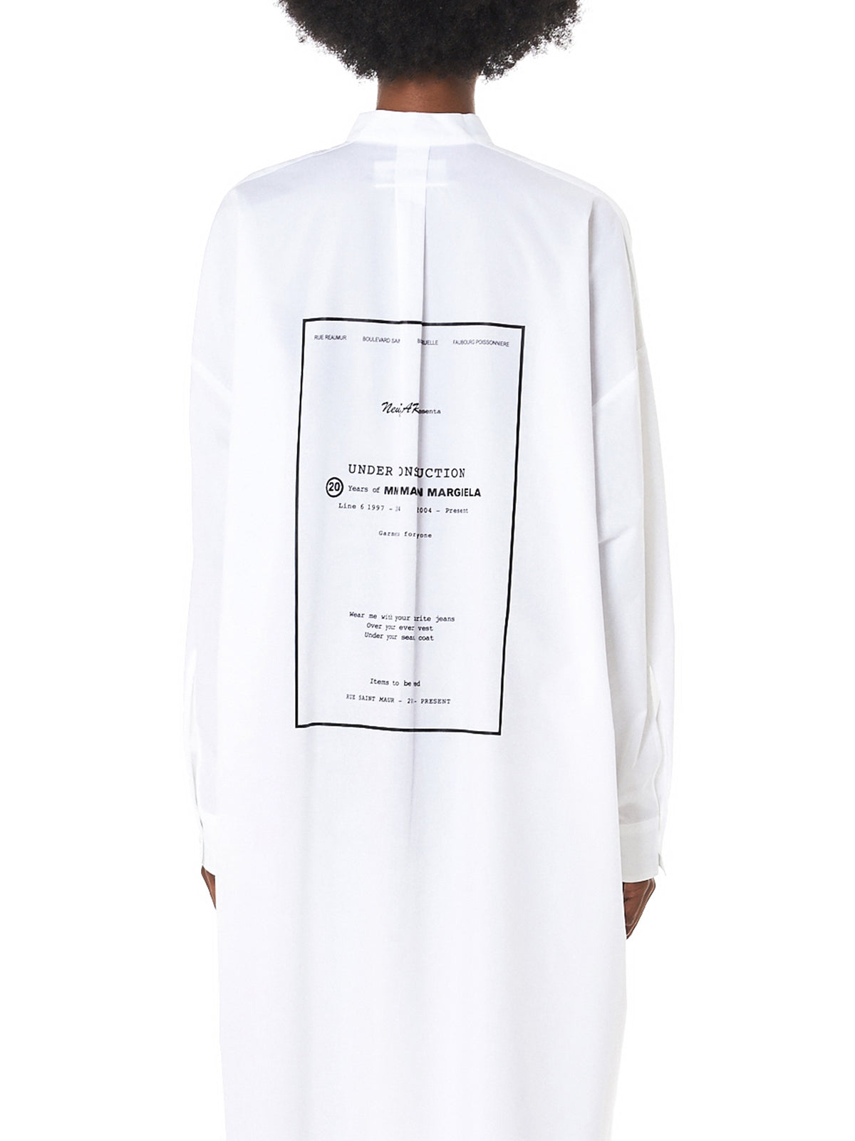 MM6 Maison Margiela Dress - Hlorenzo Detail 2