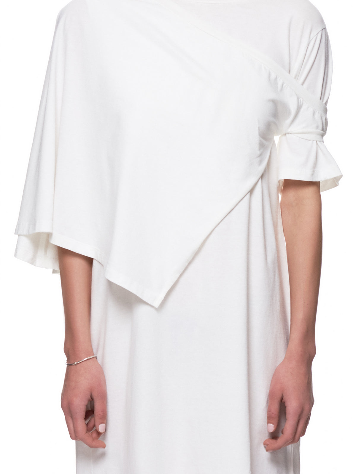 Deconstructed Tee Dress (S52CT0420-S21058-WHITE)