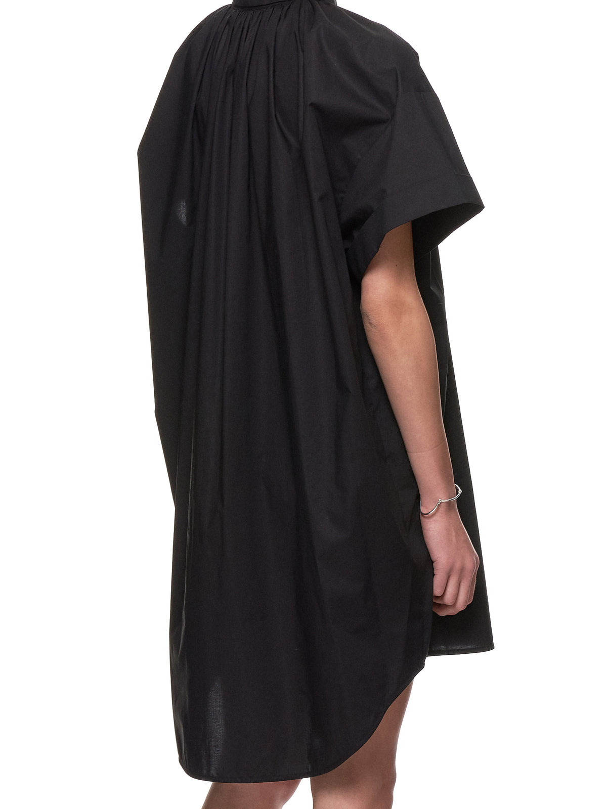 Oversized Shirt-Dress (S52CT0437-S47294-BLACK)