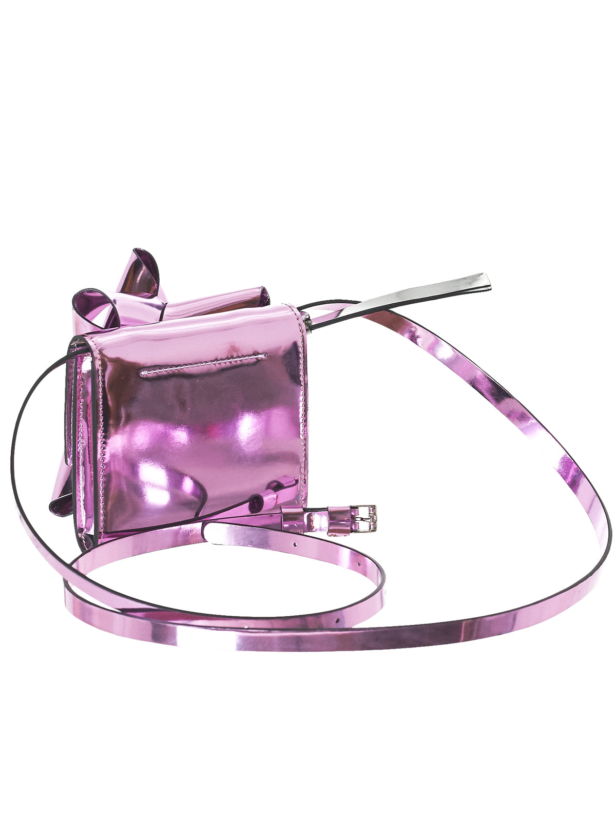 Metallic Leather Purse (S54UI0057-P0410-400)