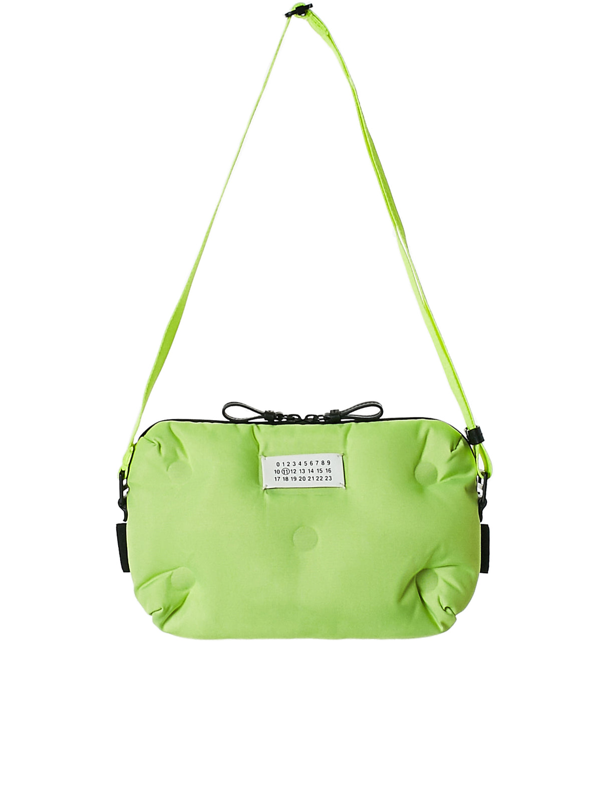 Quilted Pillow Bag (S55WB0012-NEON-GREEN)