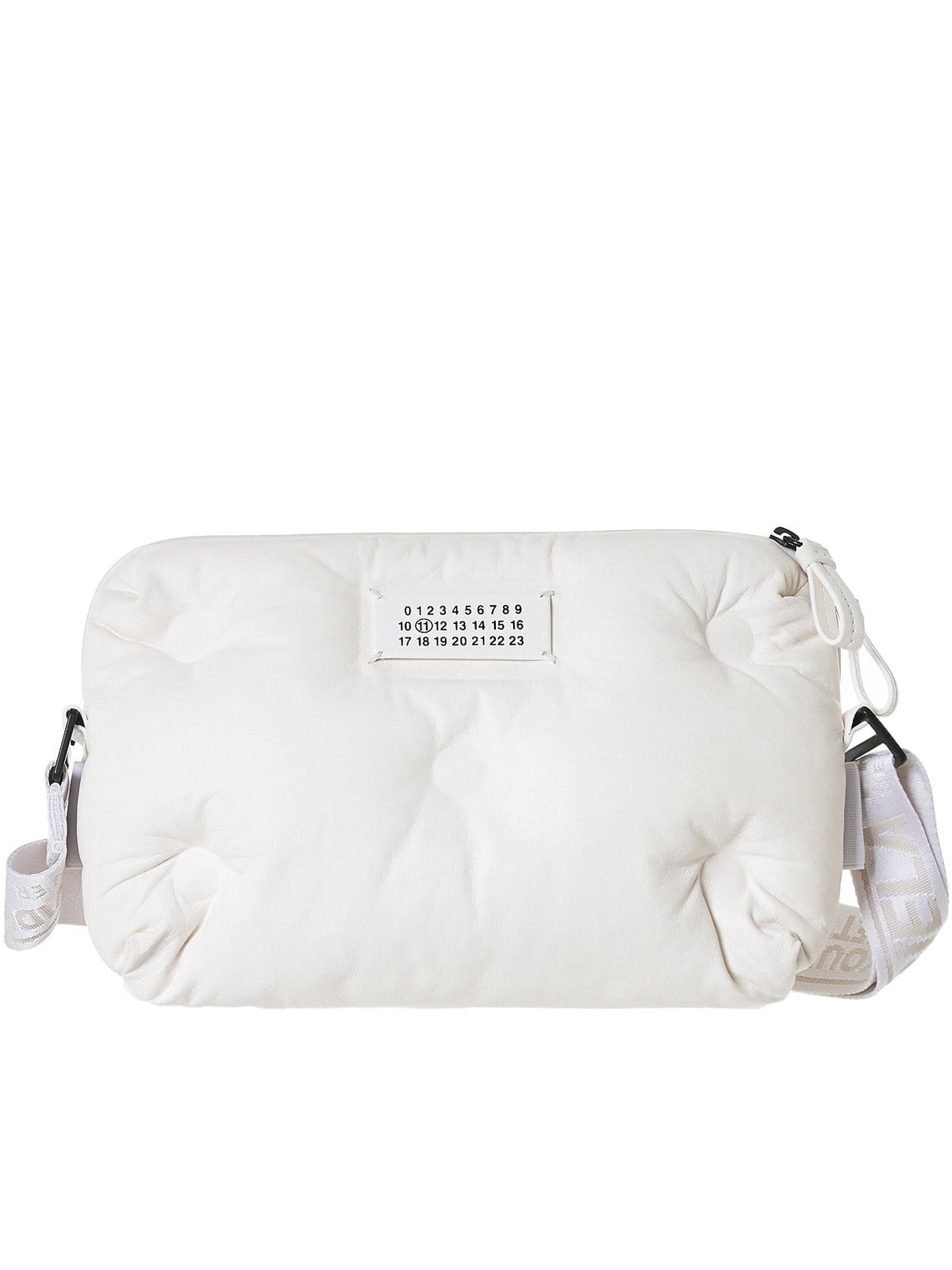 Quilted Pillow Bag (S55WB0012-PR818-WHITE)