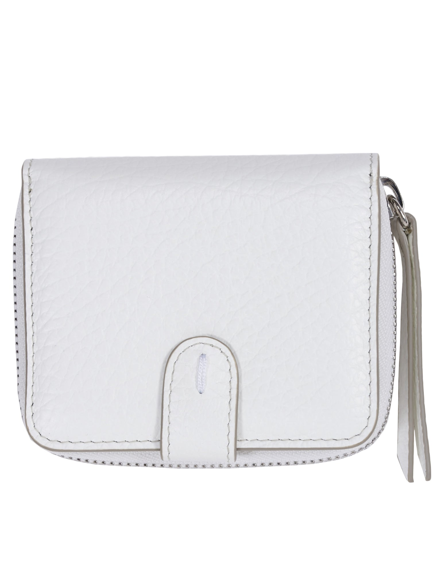 Small Leather Card Case (S56UI0112-P0399-WHITE)