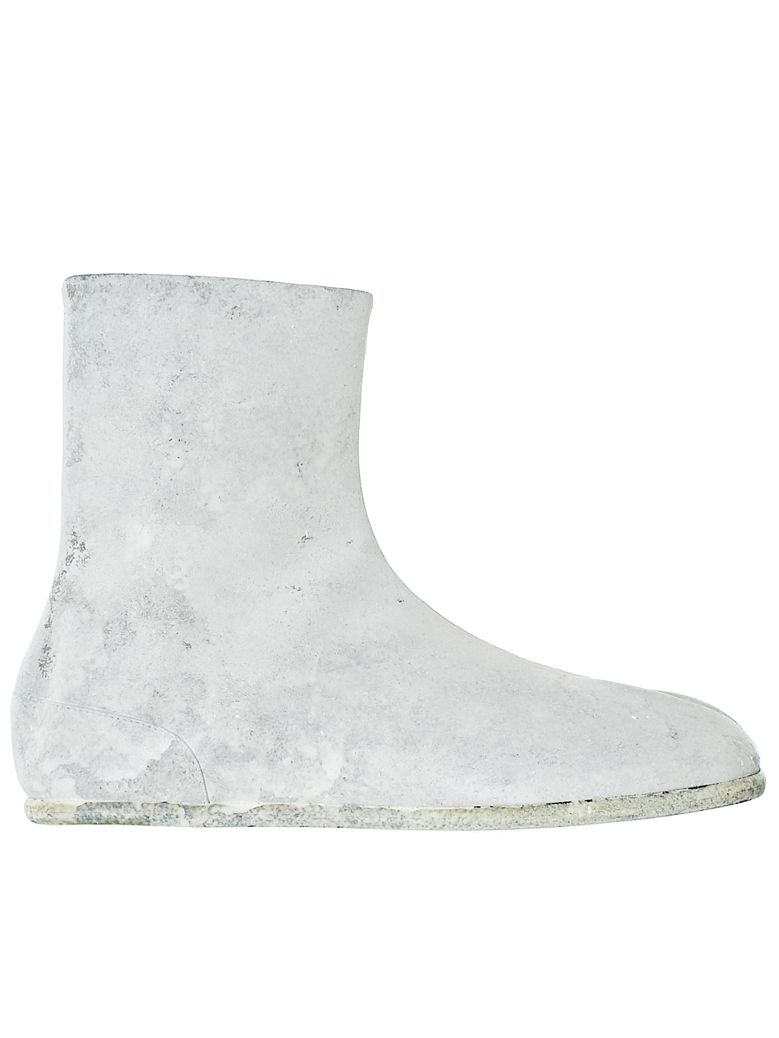 Painted Tabi Boot (S57WU0134-WHITE)