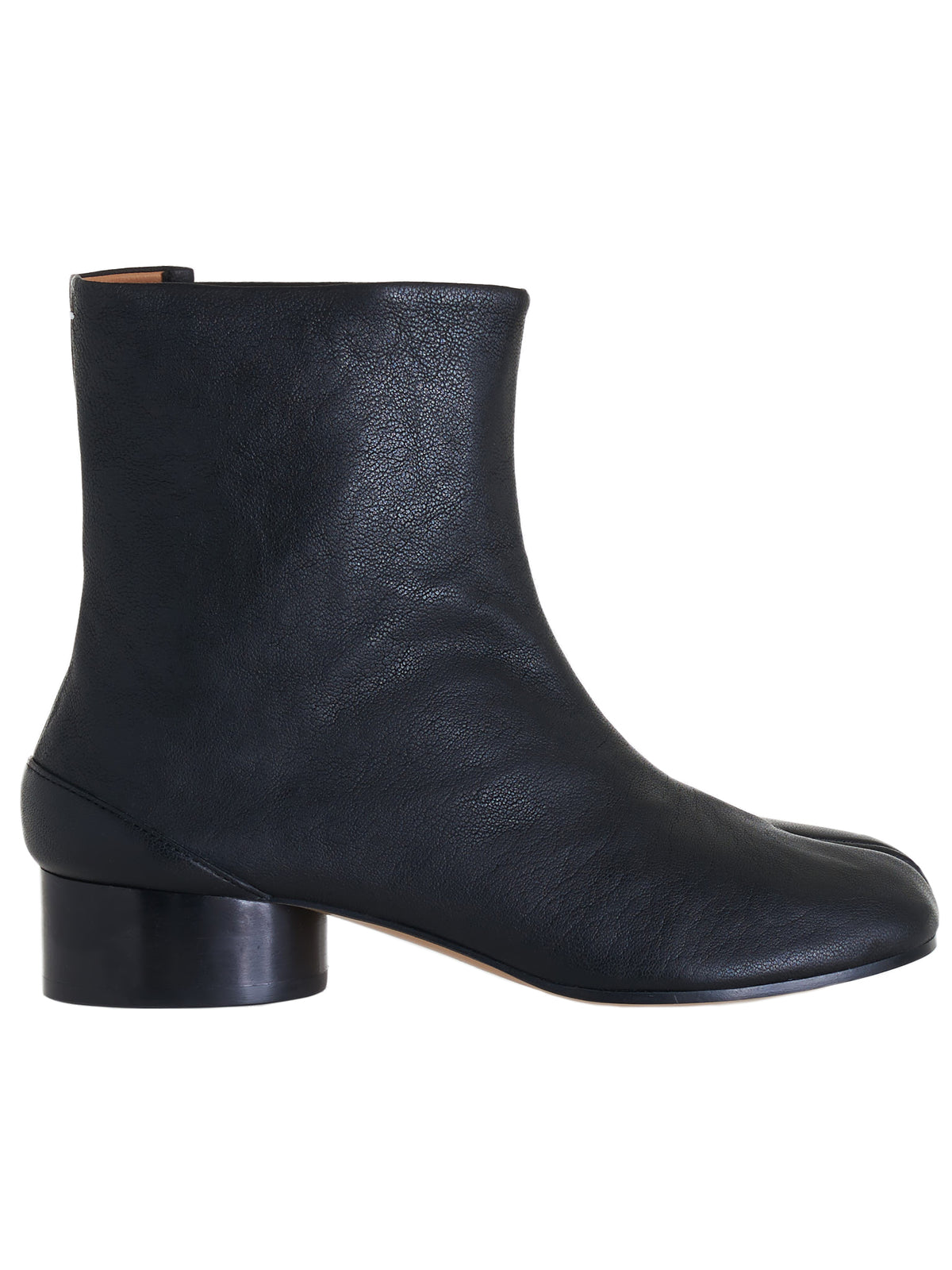 Leather Tabi Ankle Boot (S58WU0273-P3753-BLACK)