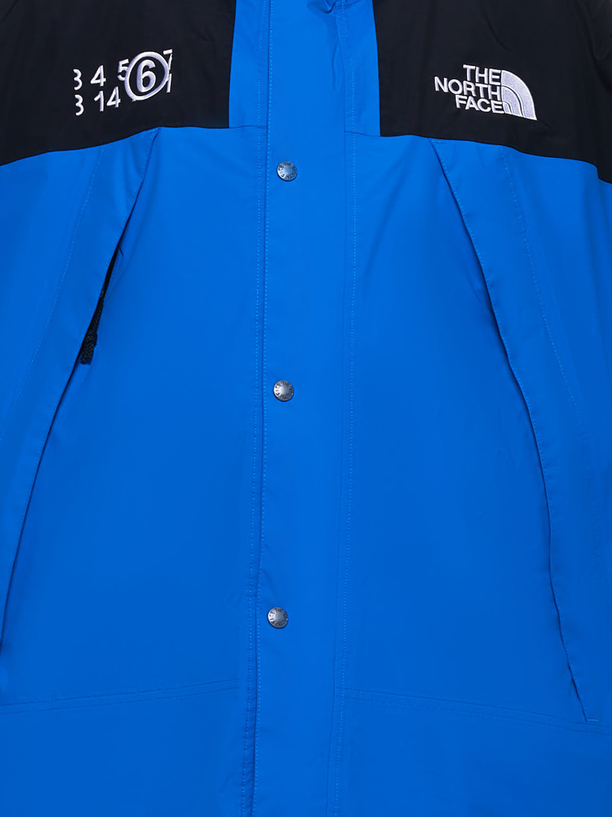 TNF X MM6 Circle Mountain Jacket (S62AN0040-S53390-BLUE-BLACK)