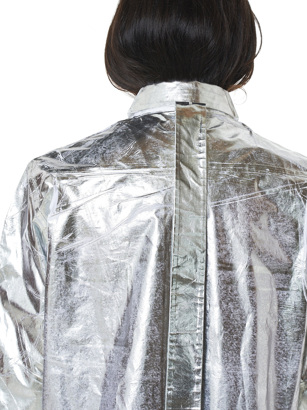 MM6 Maison Margiela Metallic Shirt - Hlorenzo Detail 2