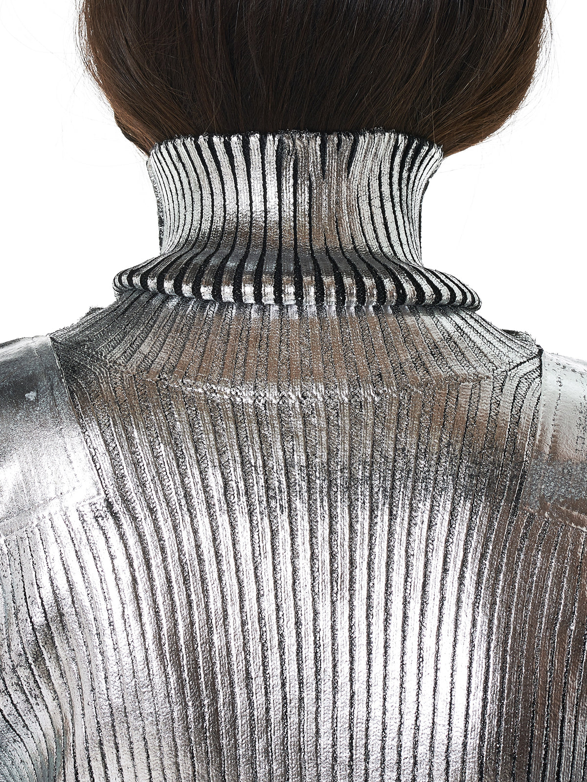 MM6 Maison Margiela Turtleneck - Hlorenzo Detail 2