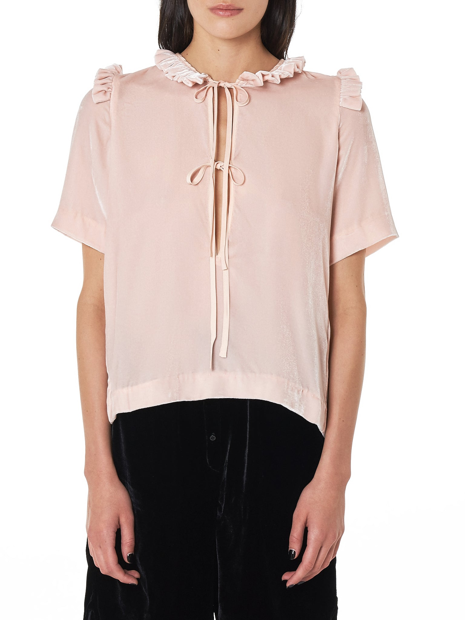 Cecilie Bahnsen Top - Hlorenzo Front
