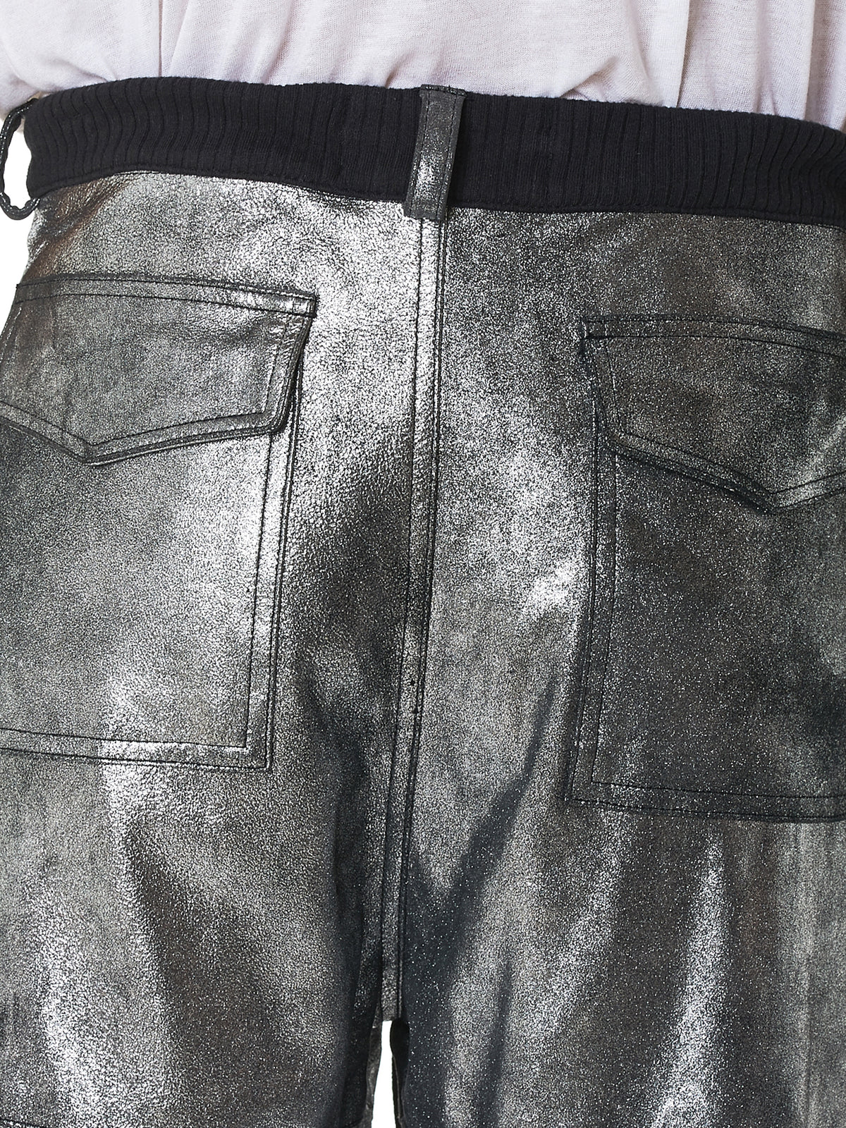 Nahmias Metallic Jogger - Hlorenzo Detail 2