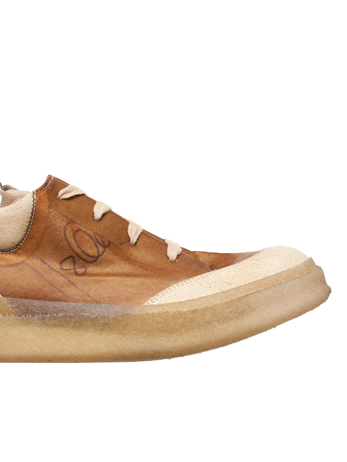 A Diciannoveventitre Distressed Sneakers - Hlorenzo Detail 2