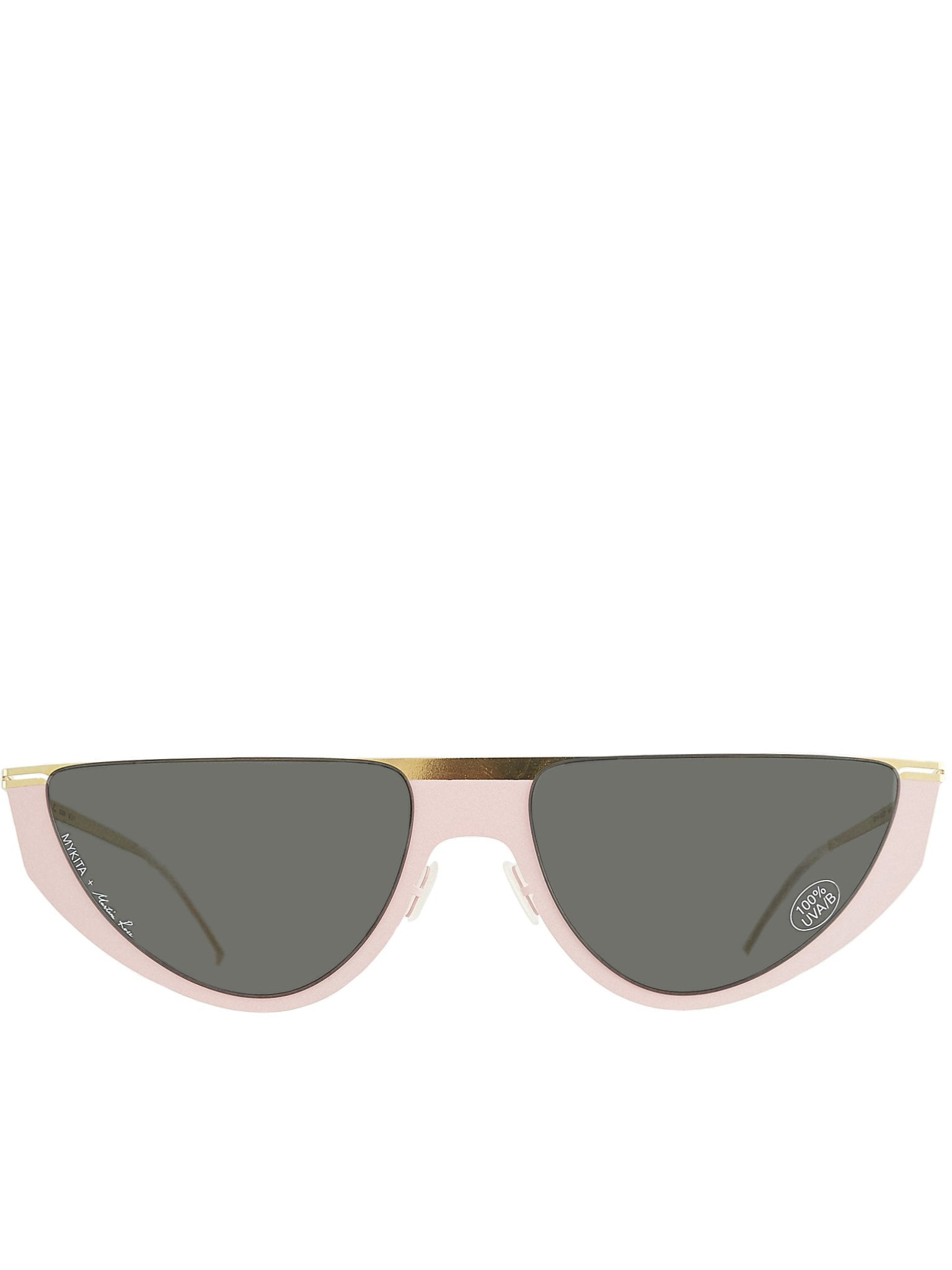 'Selina' Duotone Sunglasses (SELINA-GOLD-ROSE-DARKGREY)