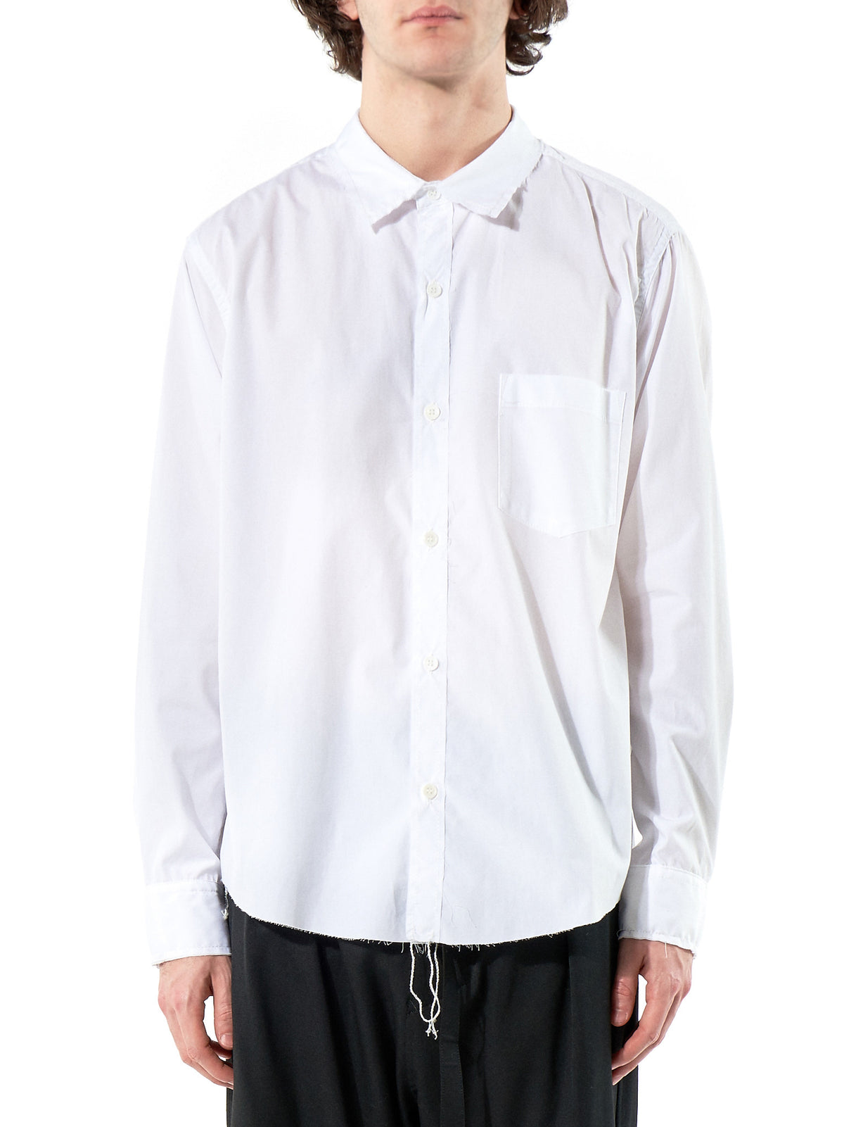 Deconstructed Button Up (SF-B01-001 WHITE) - H. Lorenzo