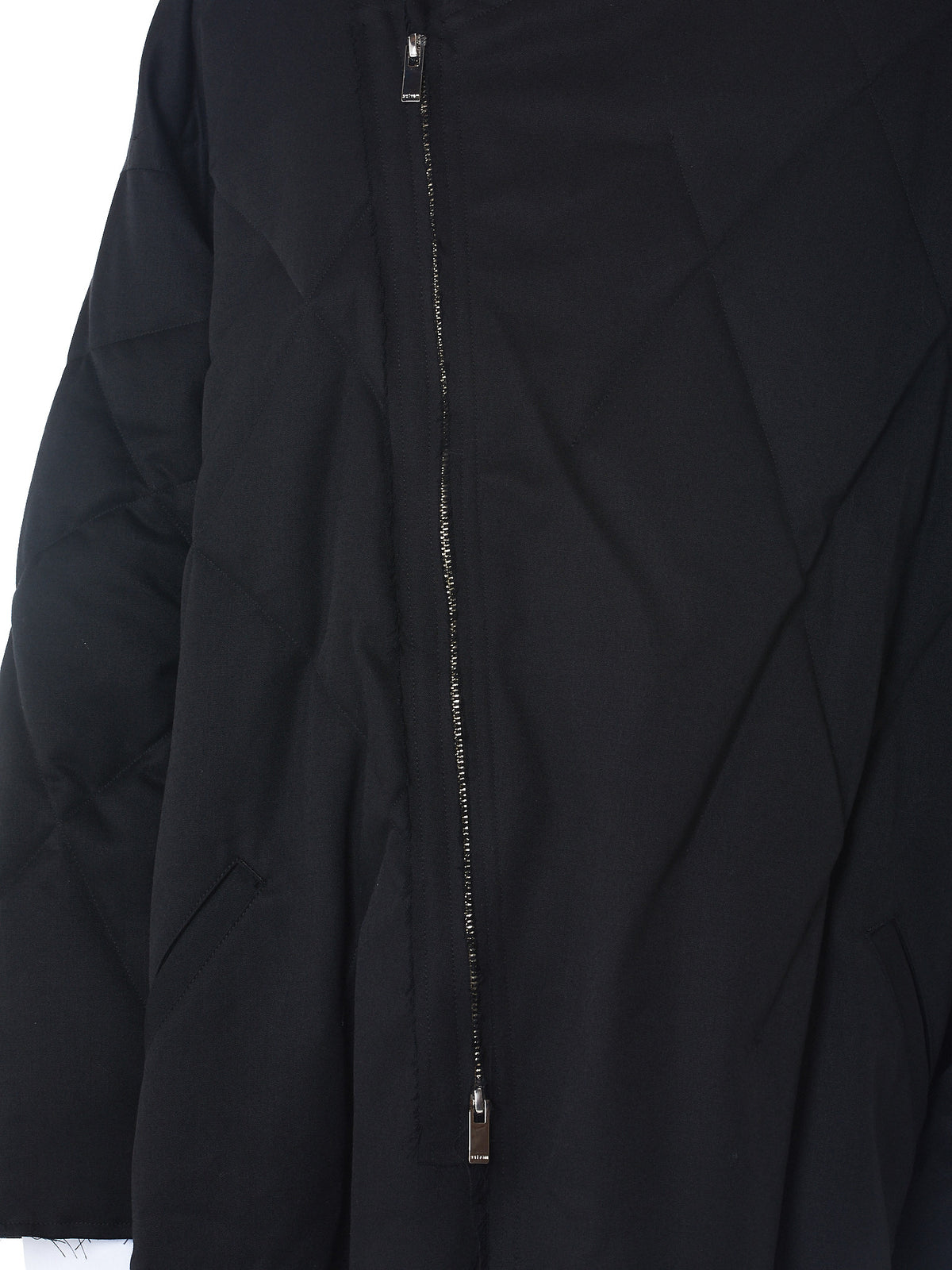 Sulvam- HLorenzo quilted coat detail 2