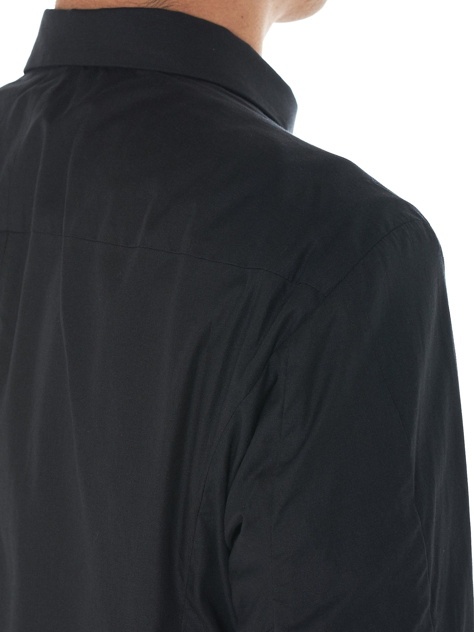 Concealed Zip Shirt (SHP-TCM-CHARCOAL)