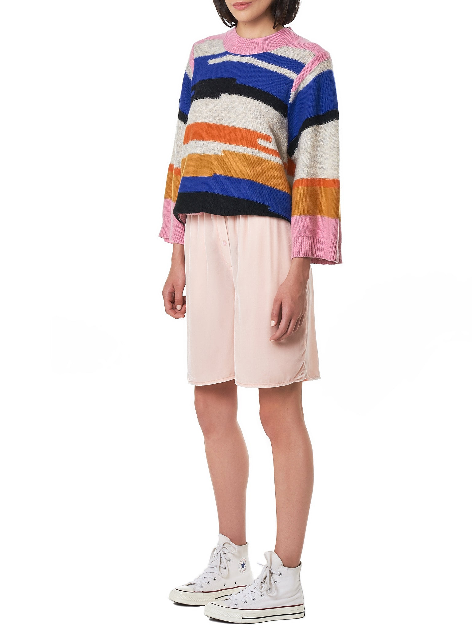 Cecilie Bahnsen Pink Shorts - Hlorenzo Style