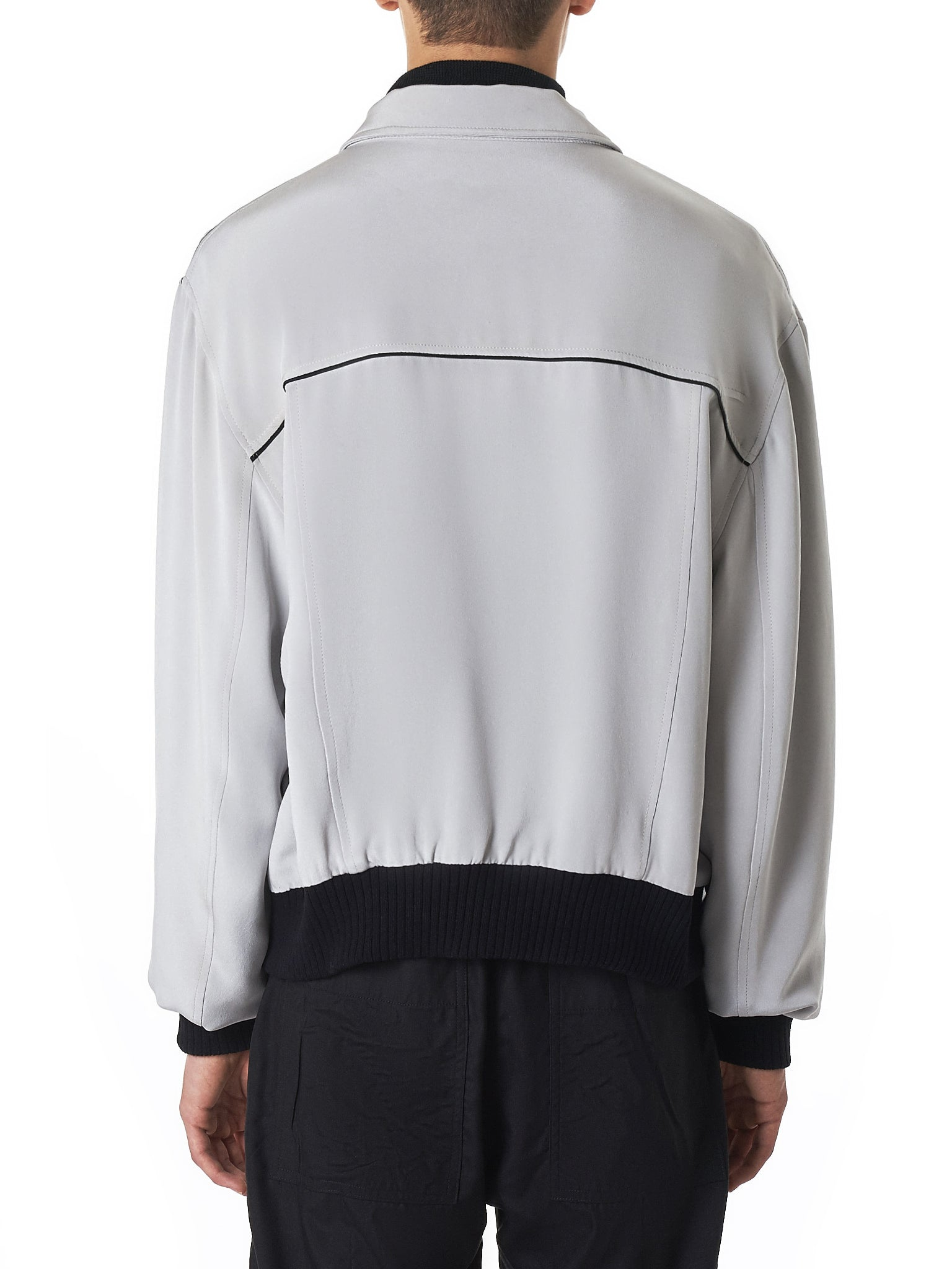 Nahmias Silk Jacket - Hlorenzo Back