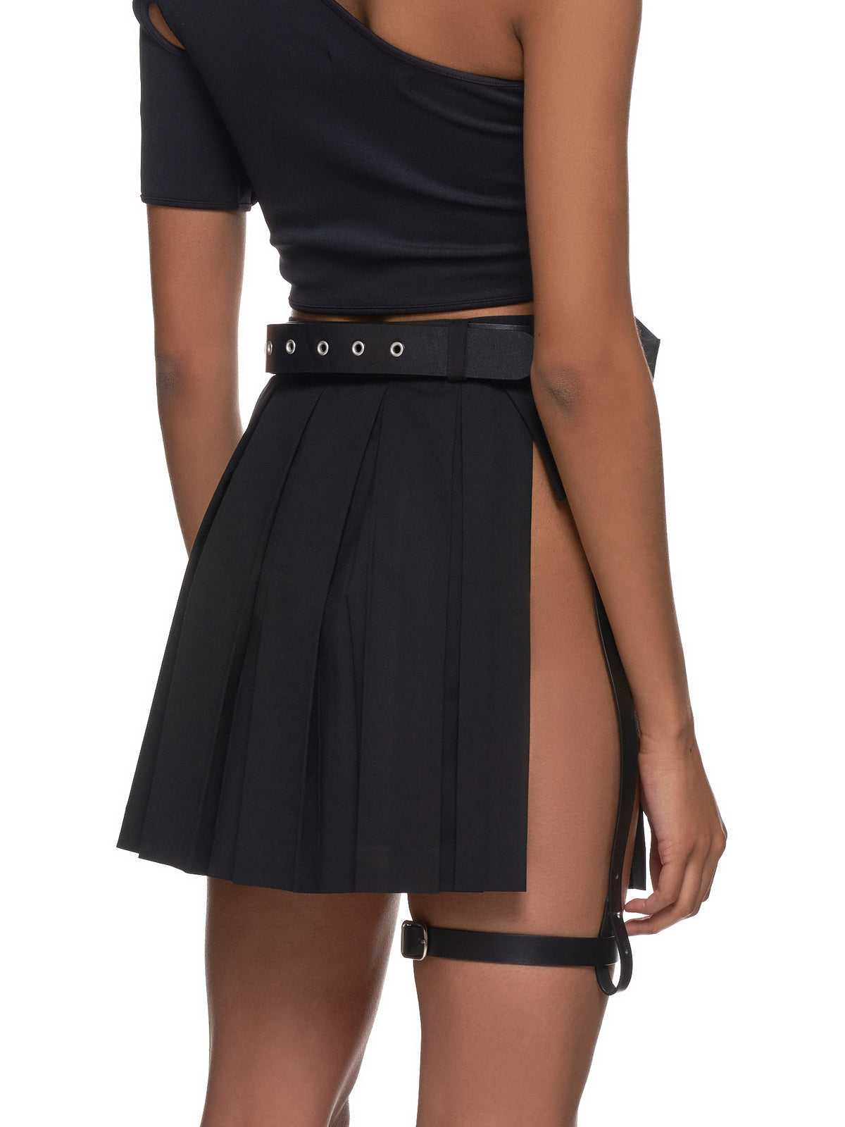 Pleated Skirt (SK5K-BLACK)