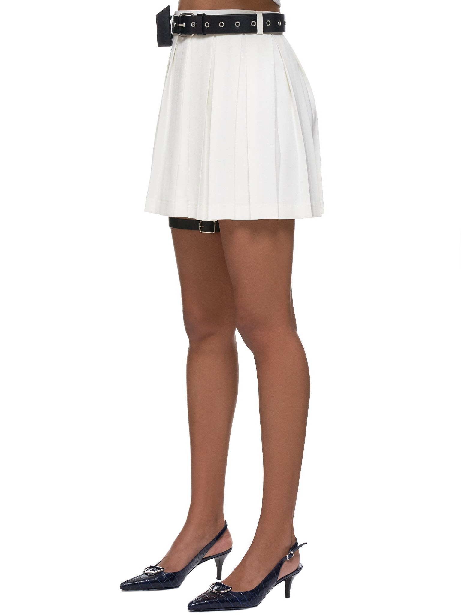 Pleated Skirt (SK5W-OFFWHITE)