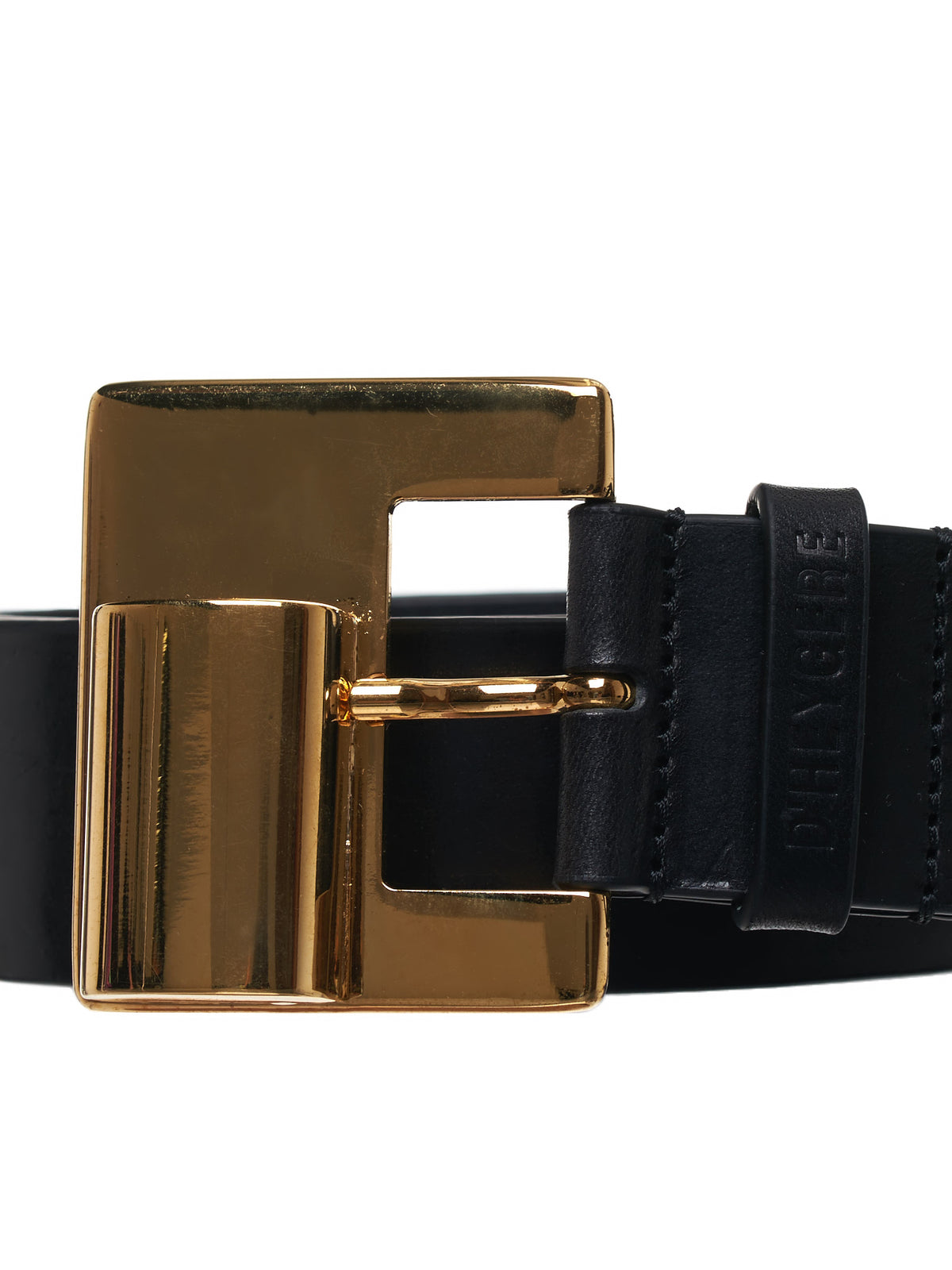 Metallic Barrel Belt (SLG04-GOLD-BLACK)