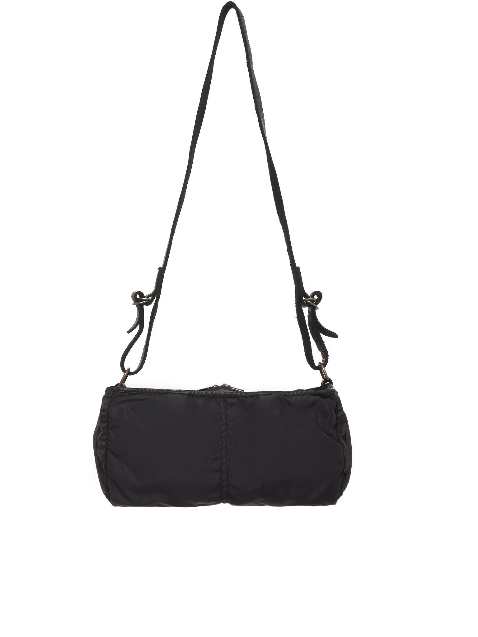 Horse Leather Shoulder Bag (SP06-SOFT-HORSE-FG-BLACKT)