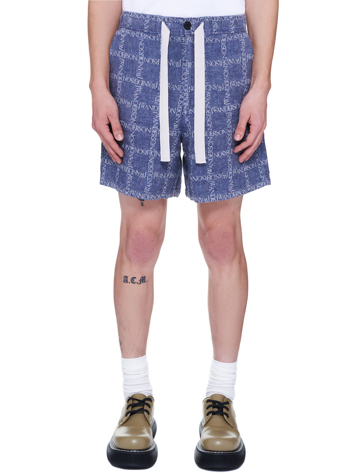 JW Anderson Shorts | H.Lorenzo Front