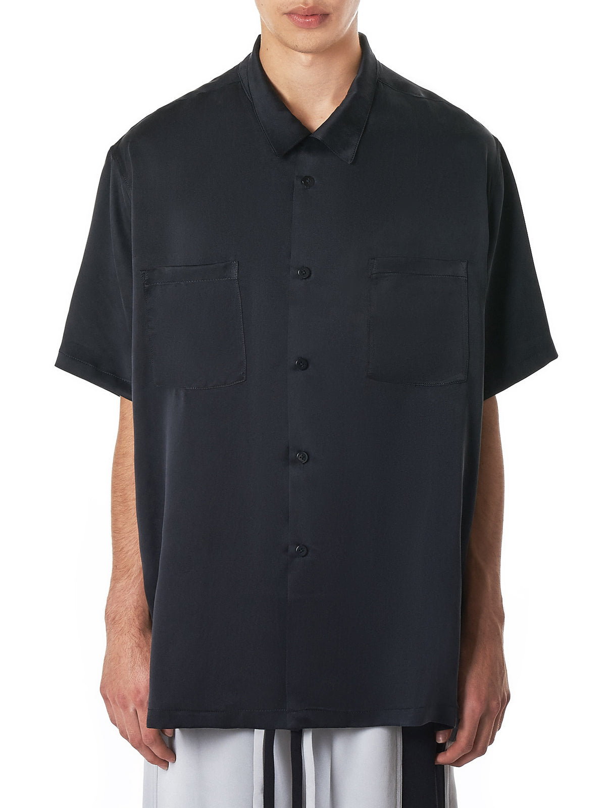 Nahmias Silk Shirt - Hlorenzo Front