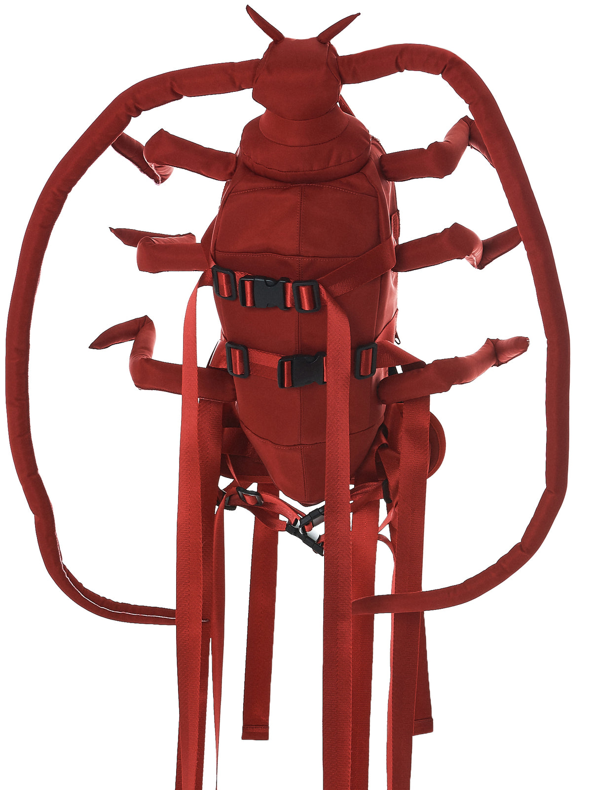 Mid Longhorn Beetle Backpack (SS1202-RED)