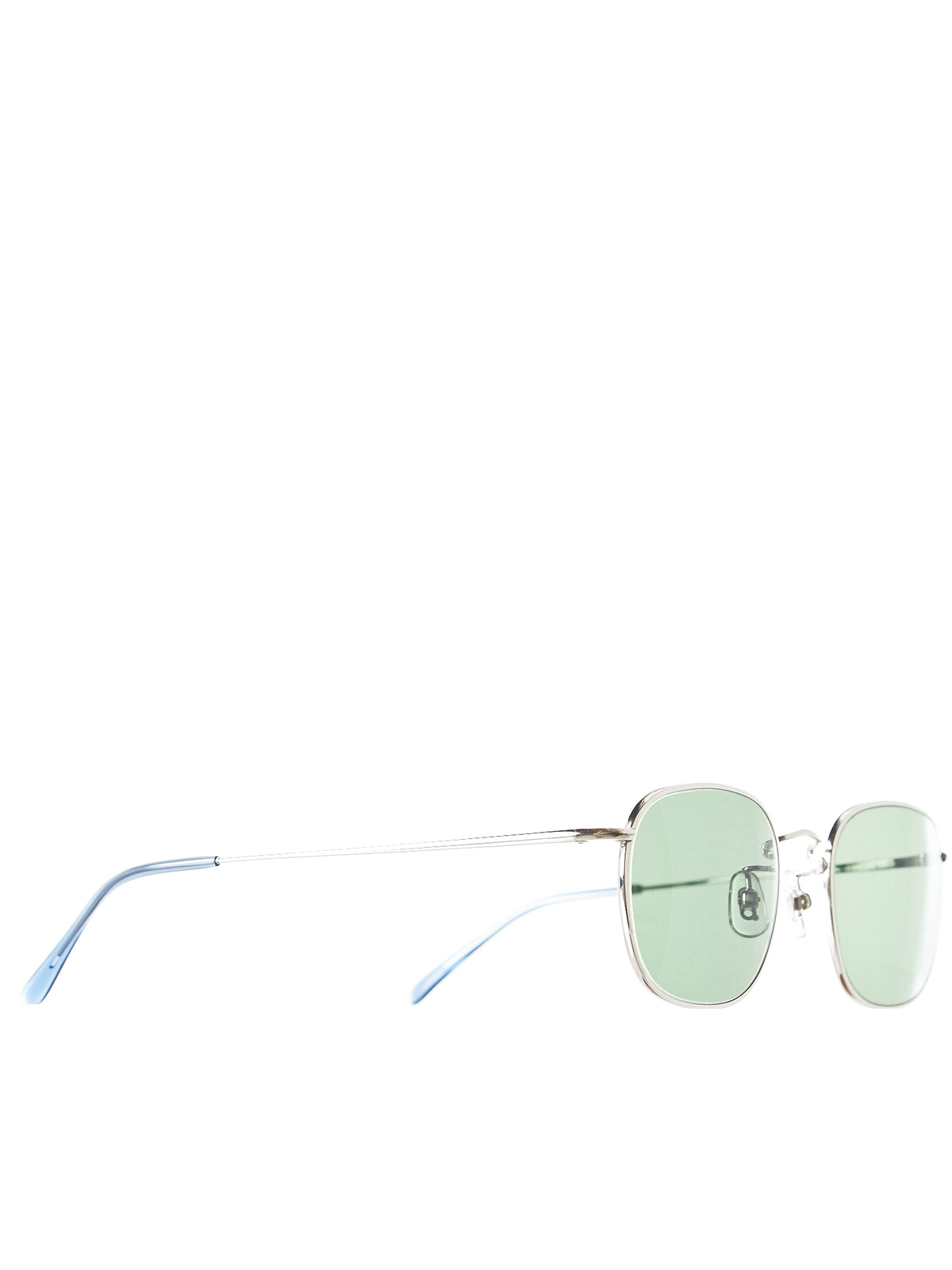Wellington Titanium Sunglasses (ST-TITAN-WELLINGTON-SLVR-TWGRN)