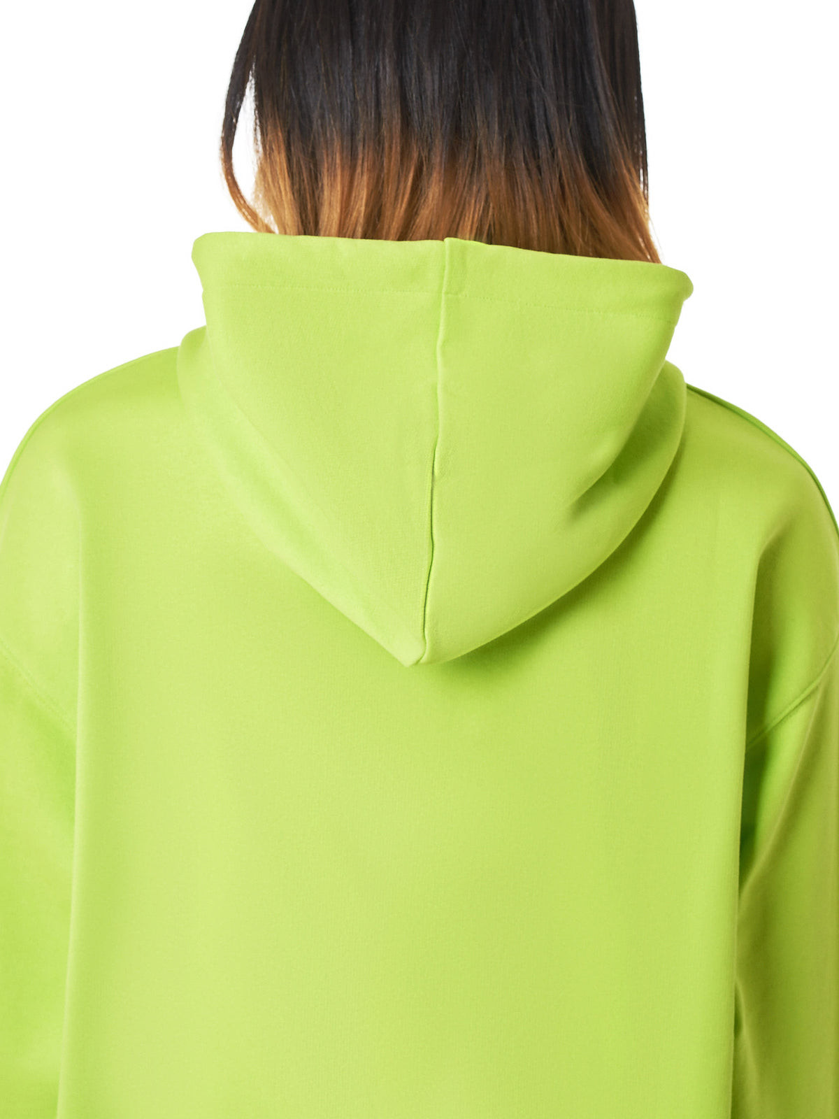 Hooded Pullover (SWEA000009-LIME-GREEN)
