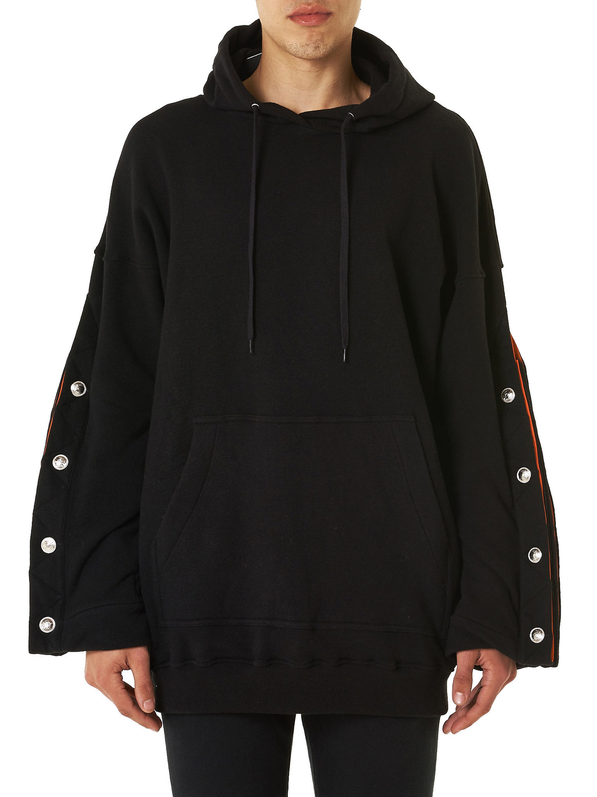 Structured Hooded Sweater (SWEAT7-S12-CC120-BLACK)