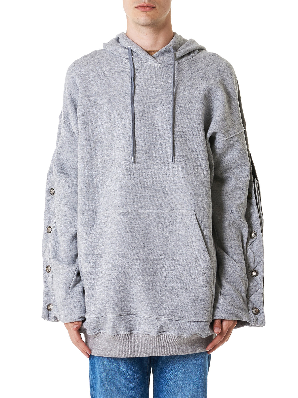 Structured Hooded Sweater (SWEAT7-S12-CC122-GREY)