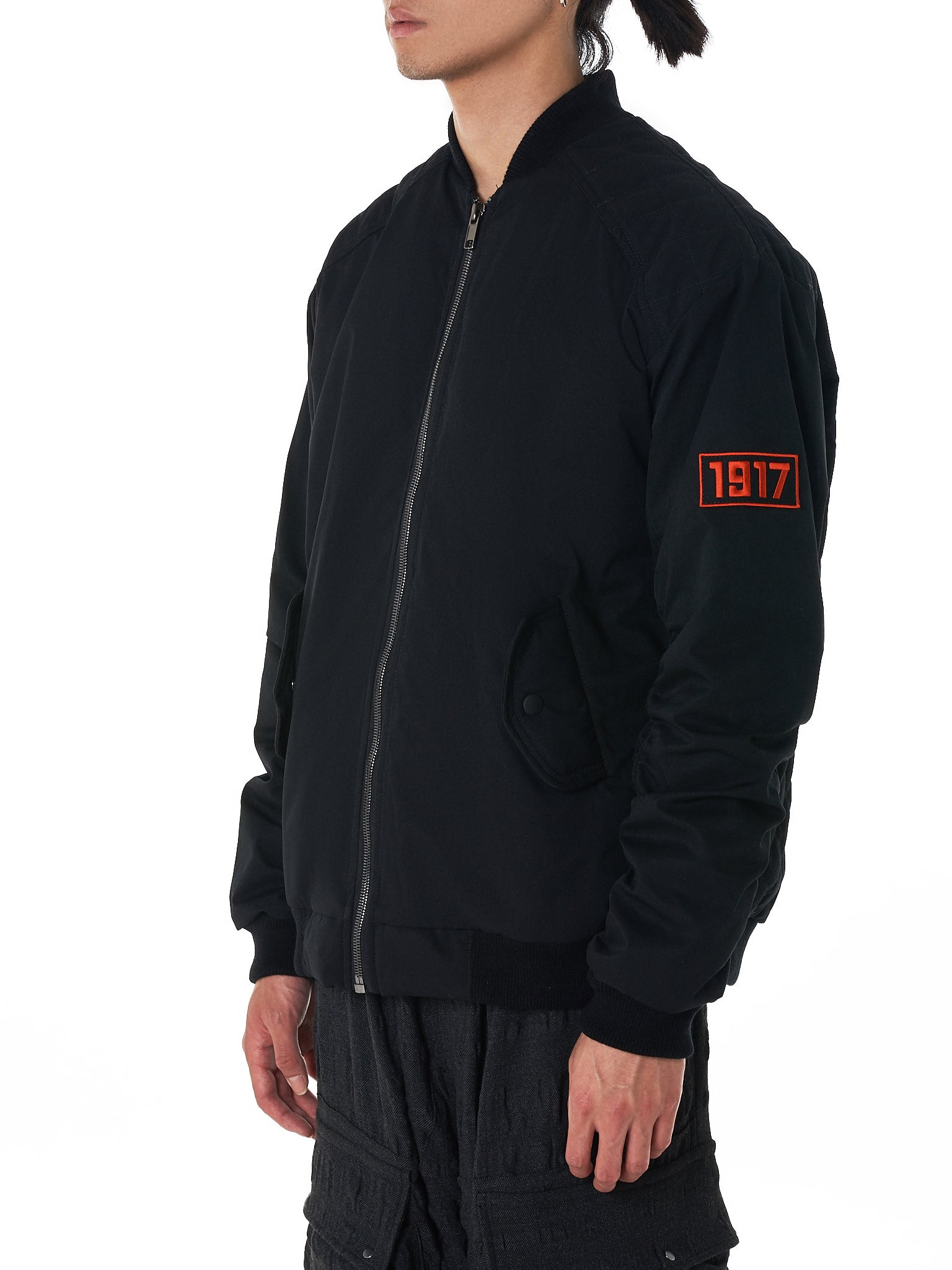 Sovetsky1917 Bomber Jacket - Hlorenzo Side