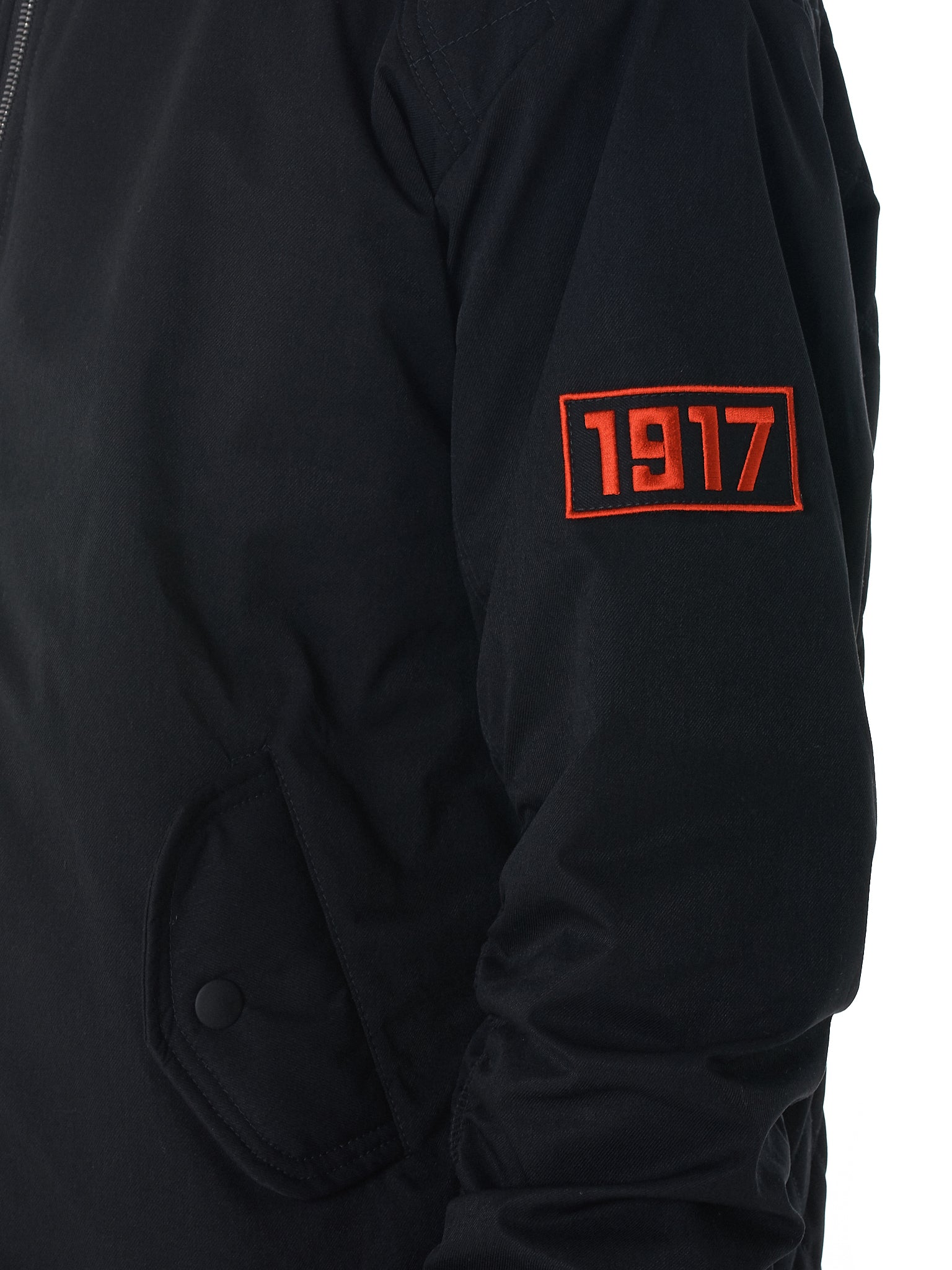 Sovetsky1917 Bomber Jacket - Hlorenzo Detail 1