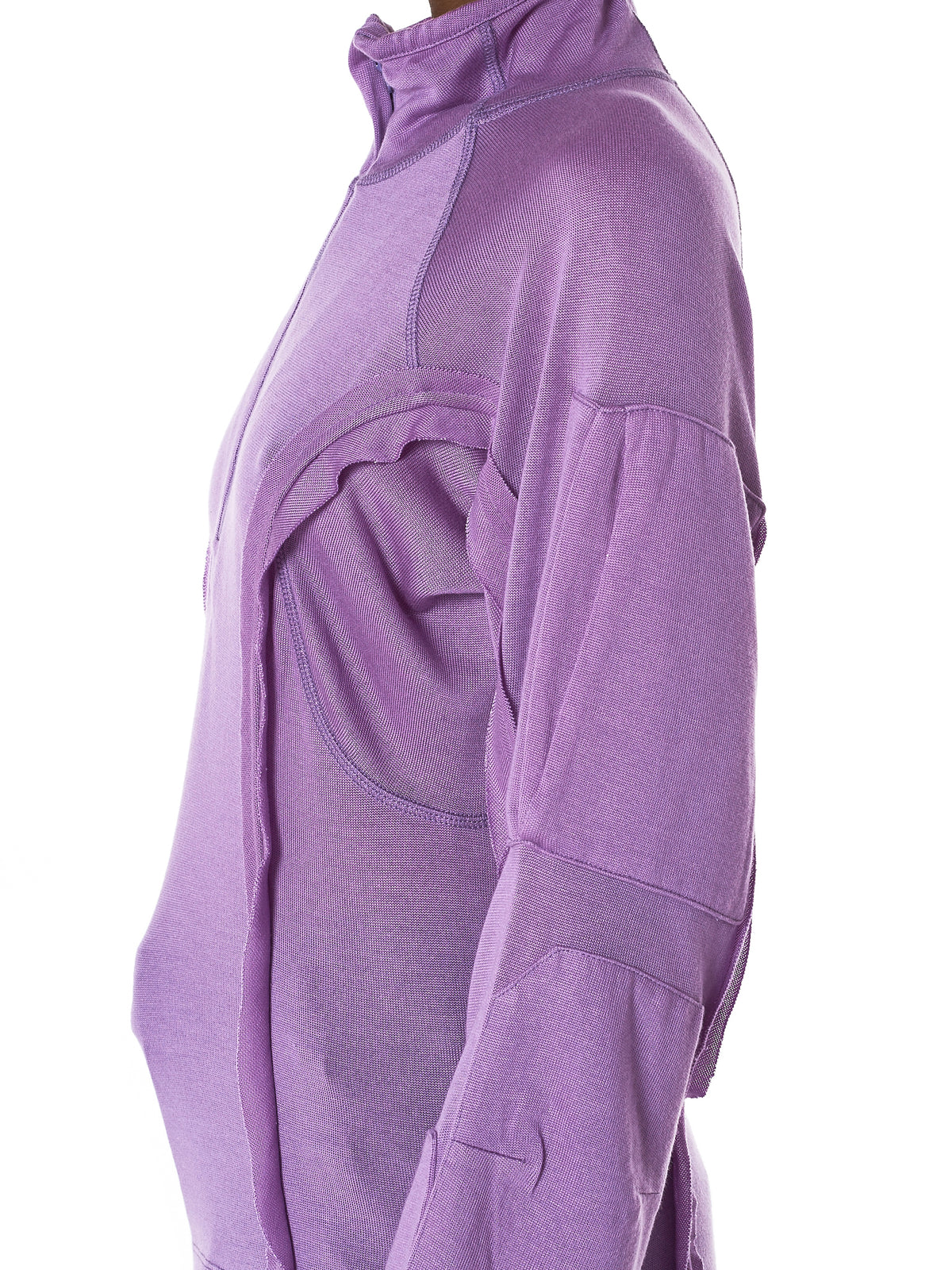 Frilled Leger Raglan Sweater (T09182-1014-J-LILAS)