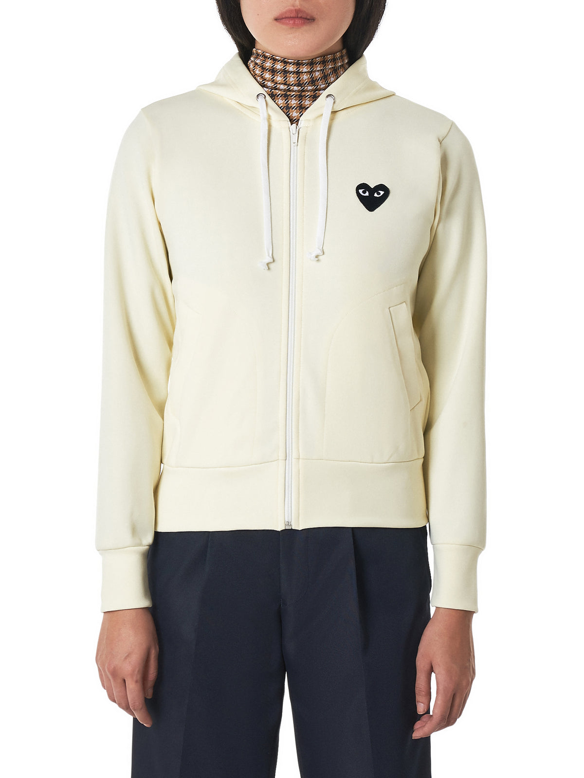 Comme des Garçons Play Hoodie - Hlorenzo Front