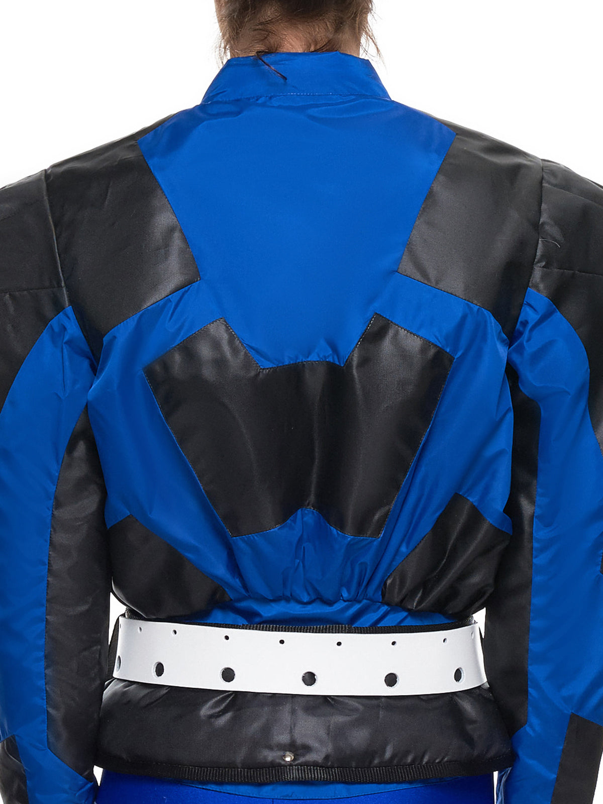 'Pocket Jacket' (T4-BLUE-BLACK-WHITE)