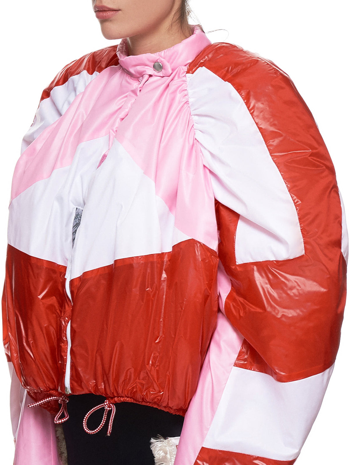 'Racing Puffer' (T5-PINK-RED-WHITE)