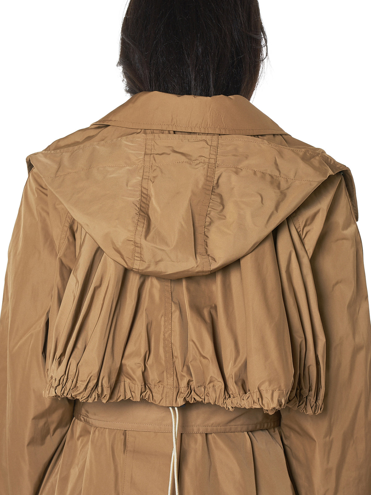 Packable Hooded Raincoat (TA82-FA036-E-BEIGE)