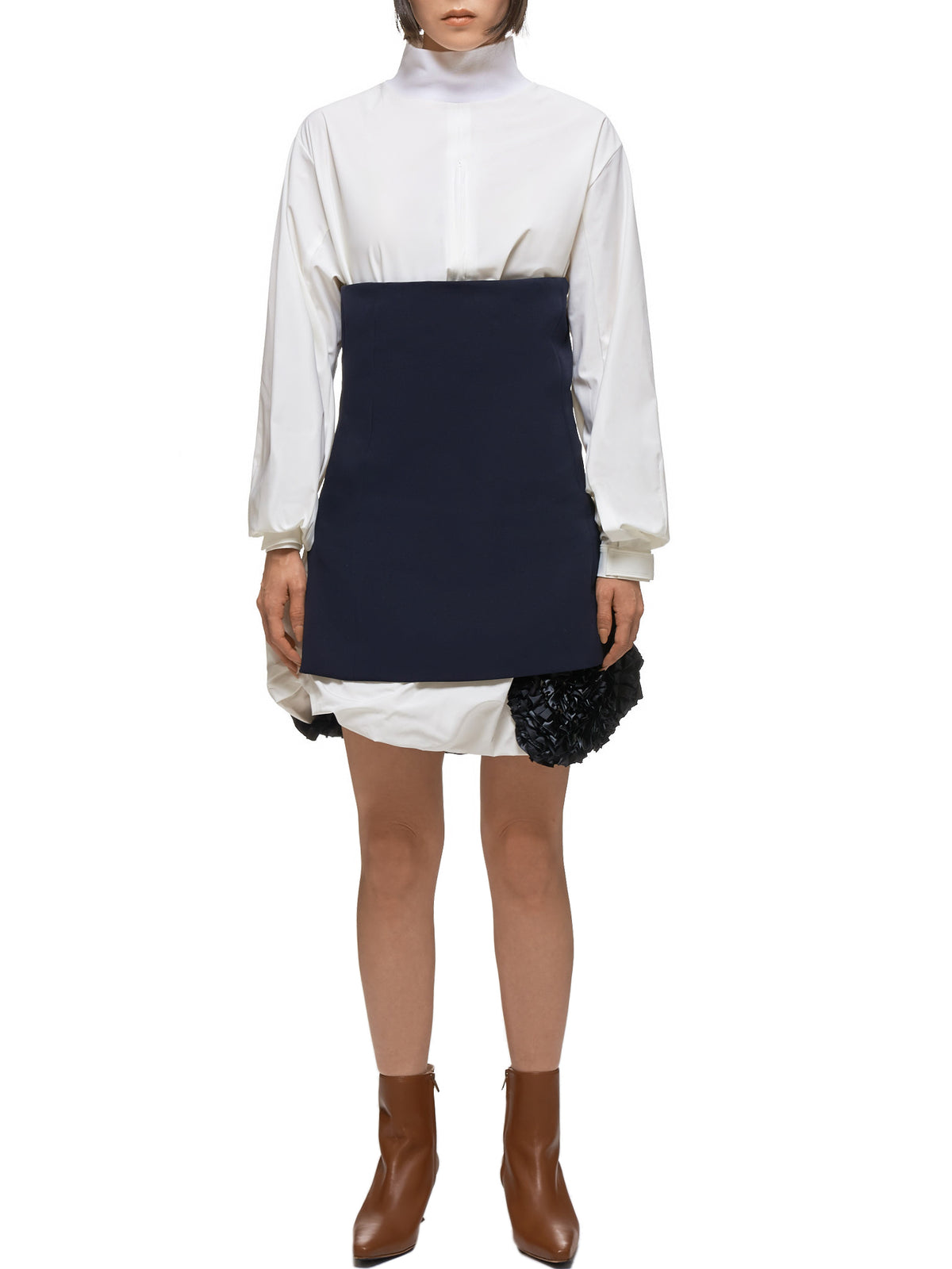 Toga Archives Dress - Hlorenzo Front