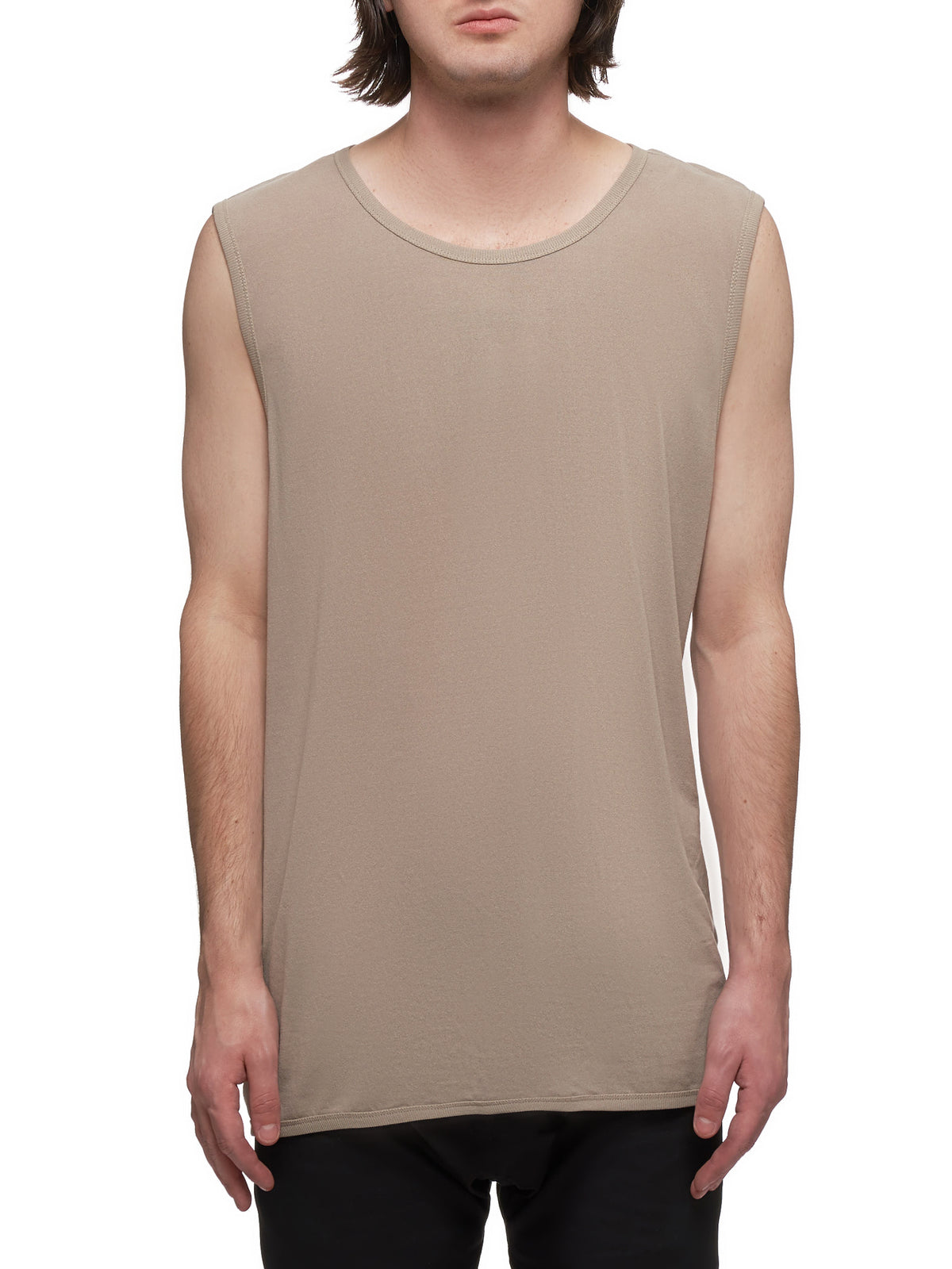 Jersey Tank Top (TANKTOP-13-COTTON-LIGHT-GRAY)