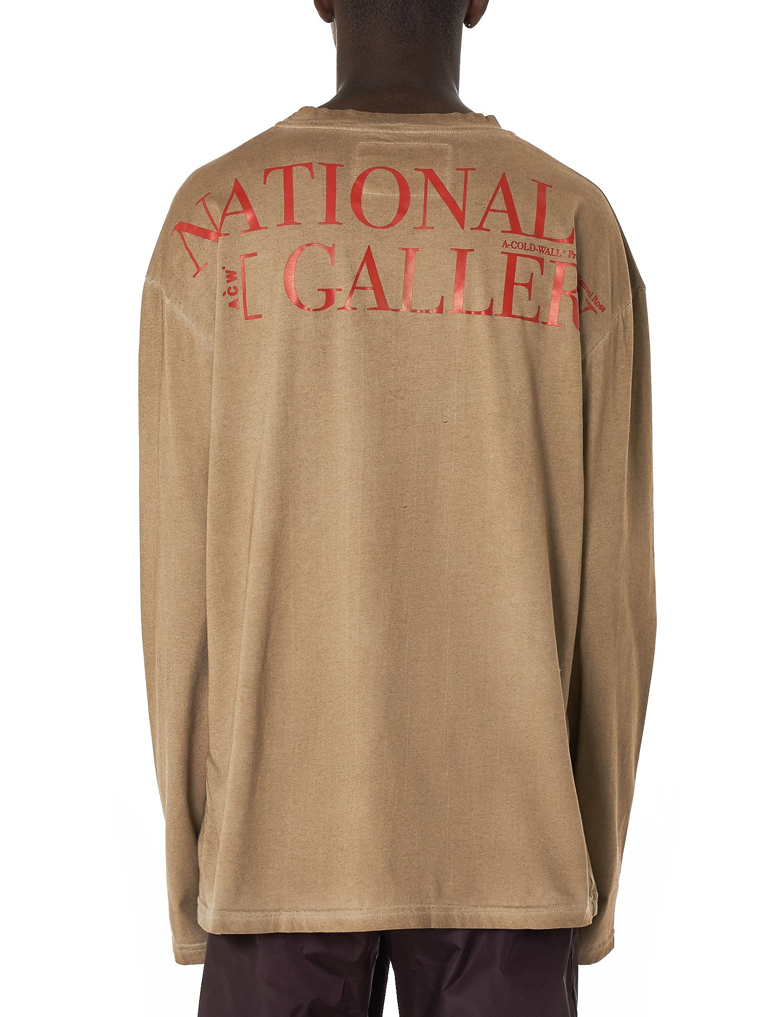 A Cold Wall* National Gallery Tee Shirt - Hlorenzo Back