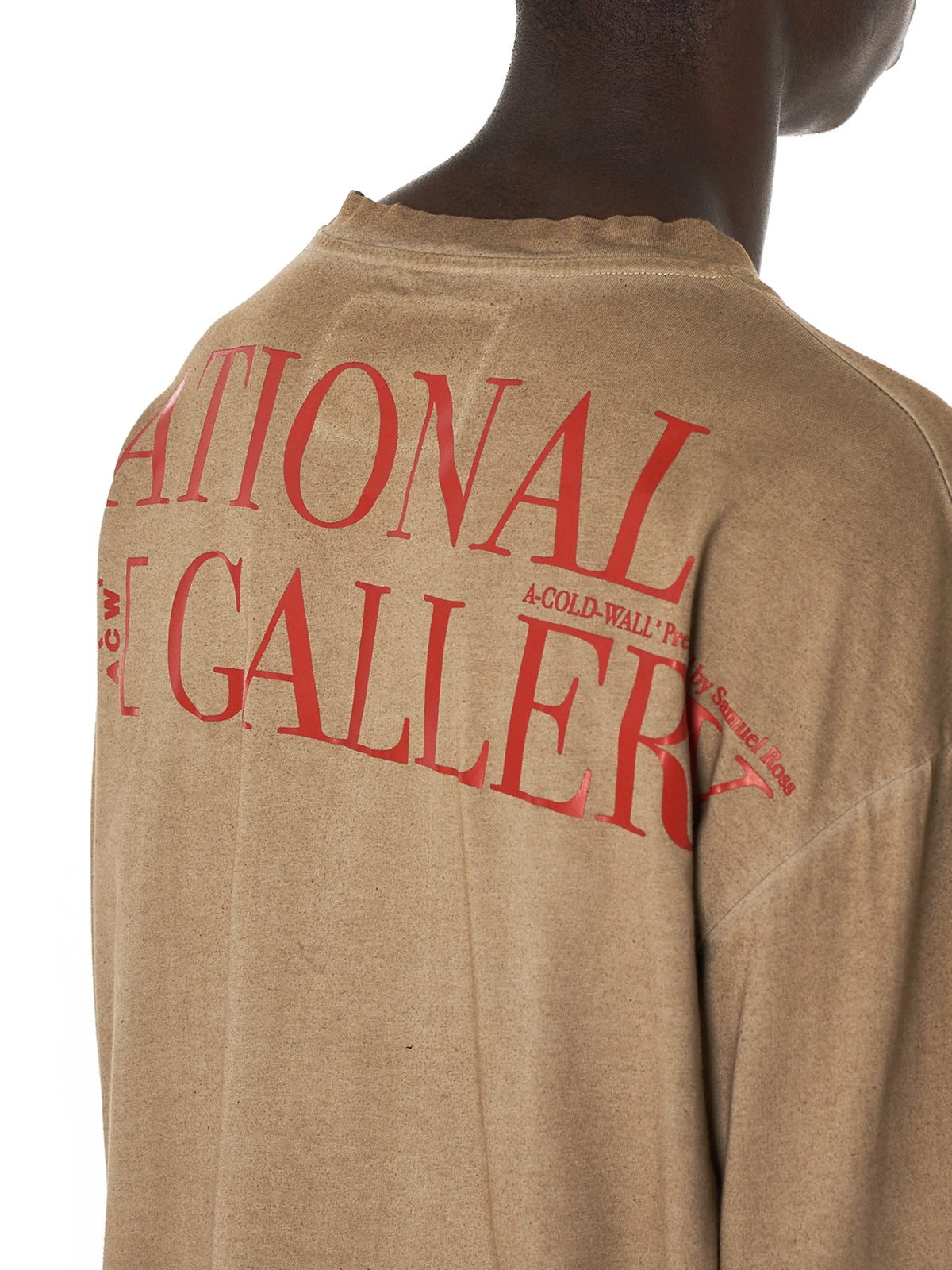 A Cold Wall* National Gallery Tee Shirt - Hlorenzo Detail 2